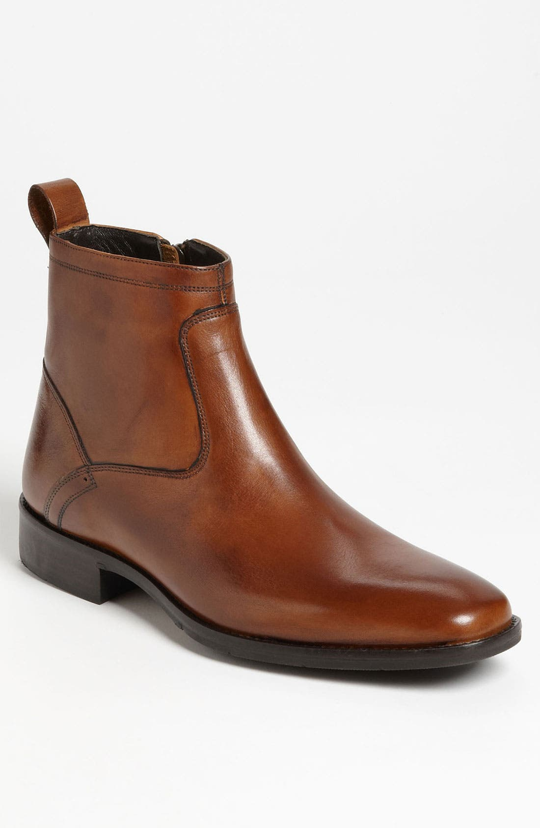 Alternate Image 1 Selected - Johnston & Murphy 'Larsey' Plain Toe Boot (Men)