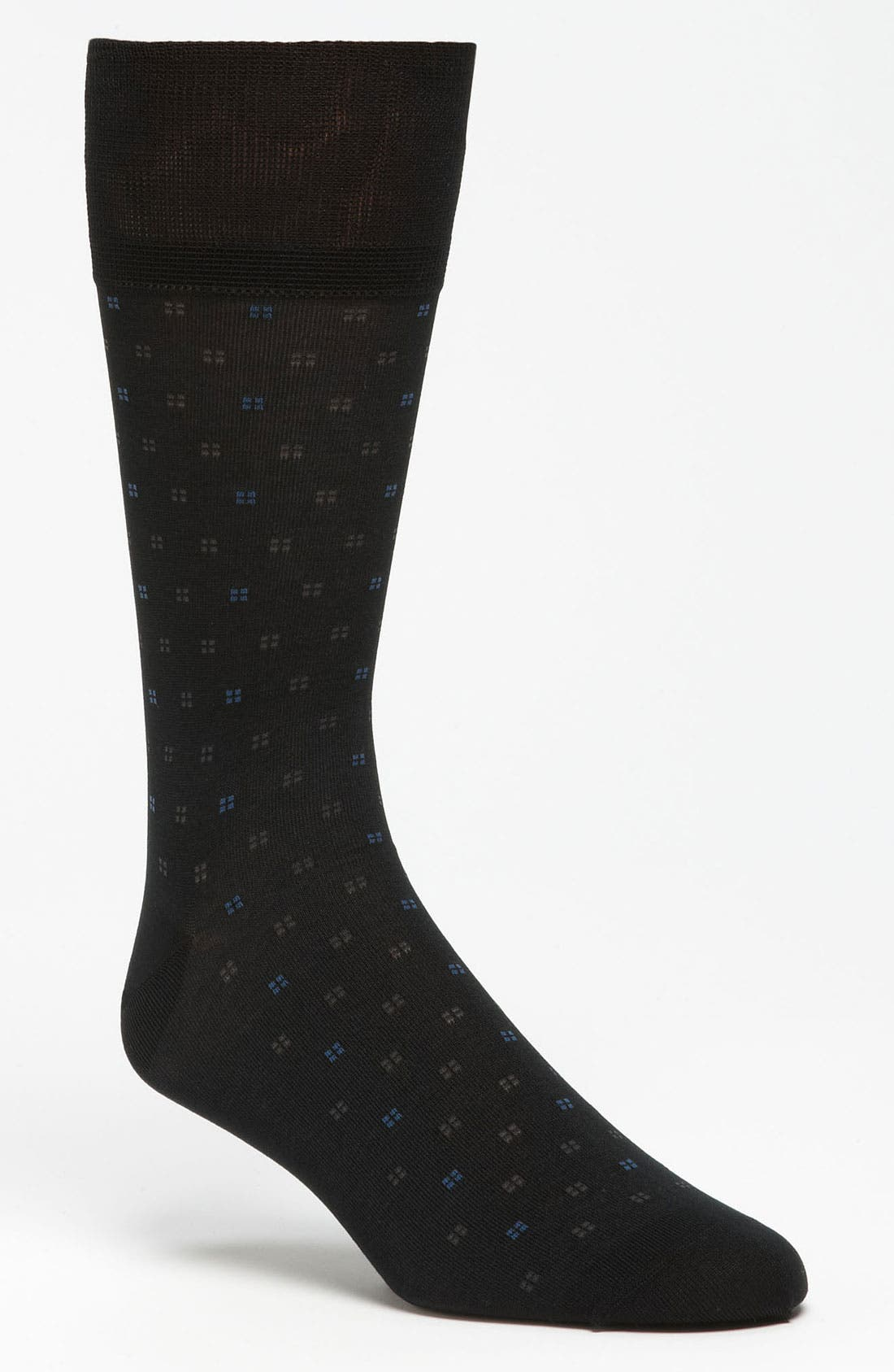 Alternate Image 1 Selected - John W. Nordstrom® Square Dot Socks