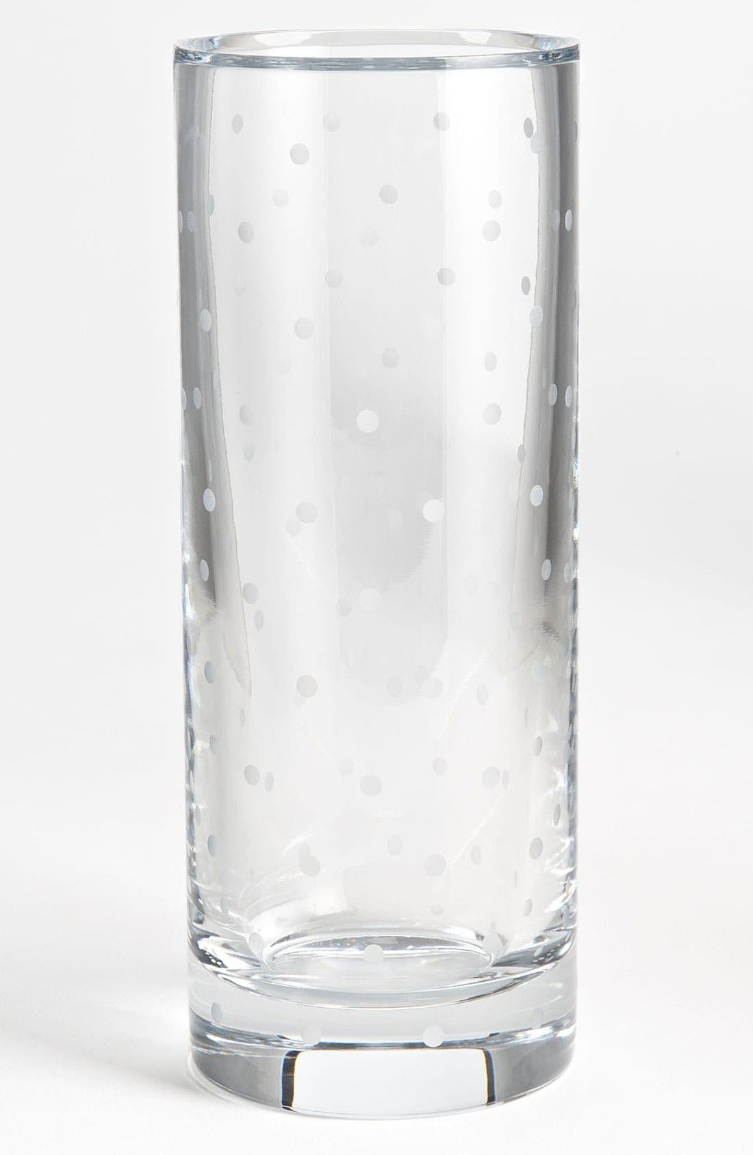 Alternate Image 1 Selected - kate spade new york 'larabee dot' cylinder vase