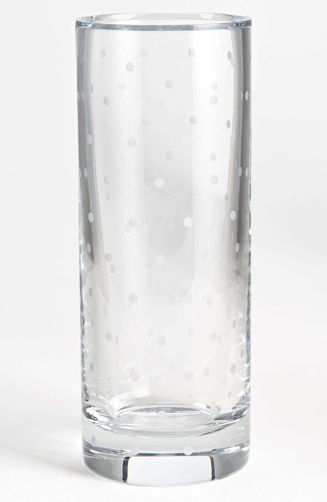 Main Image - kate spade new york 'larabee dot' cylinder vase