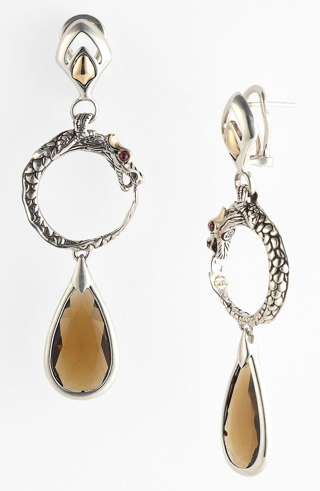 Alternate Image 1 Selected - John Hardy 'Batu Naga' Drop Earrings