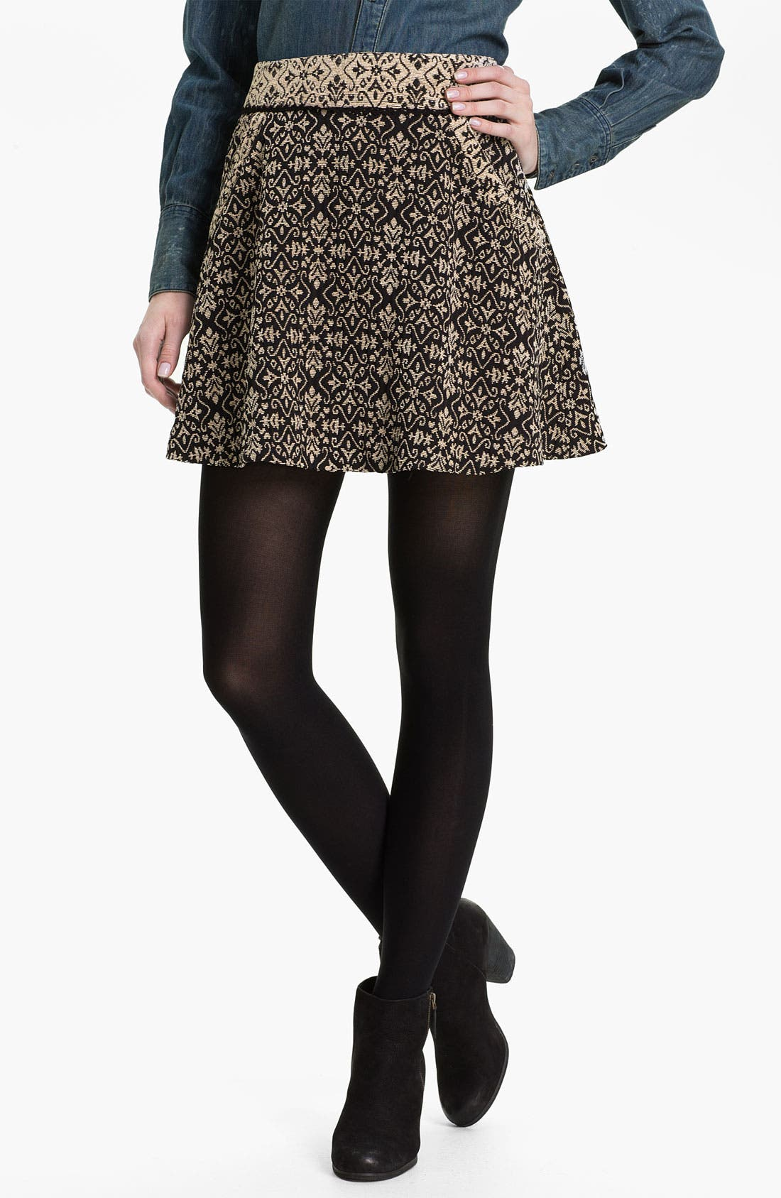 Main Image - Free People 'Carpet Bag' Circle Skirt