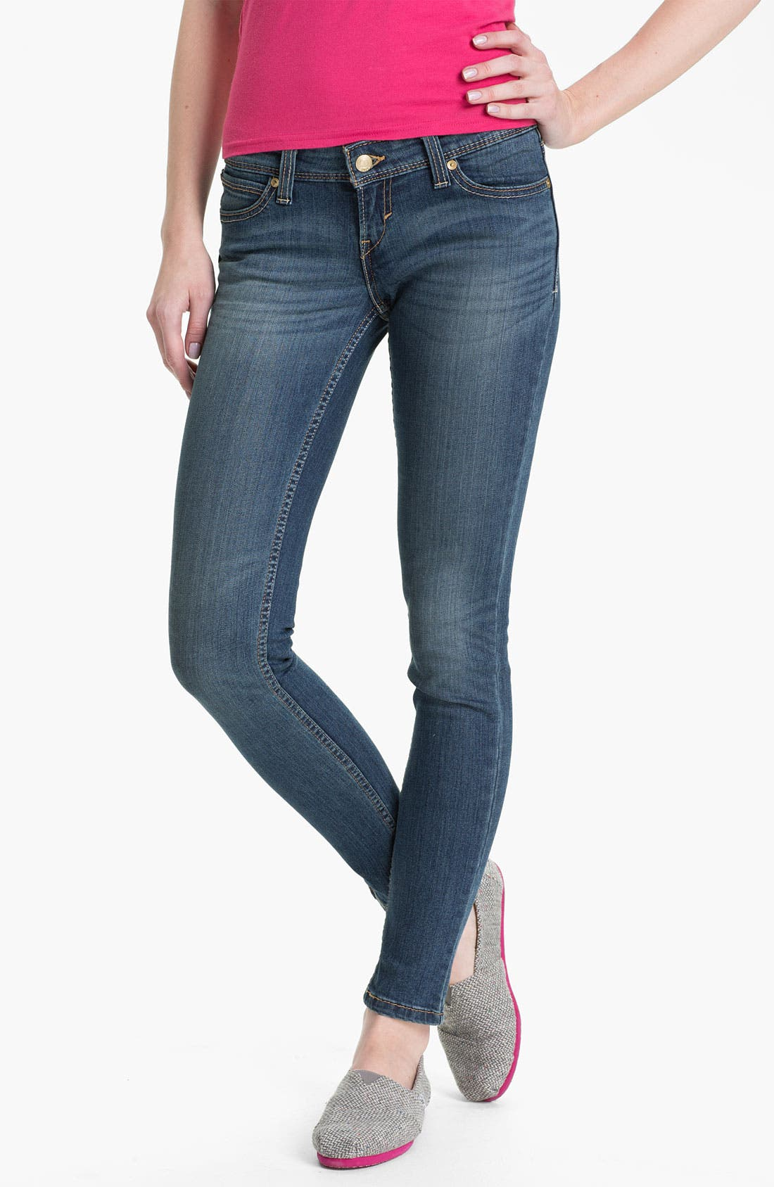 Main Image - Levi's® Denim Leggings (Natural Light)