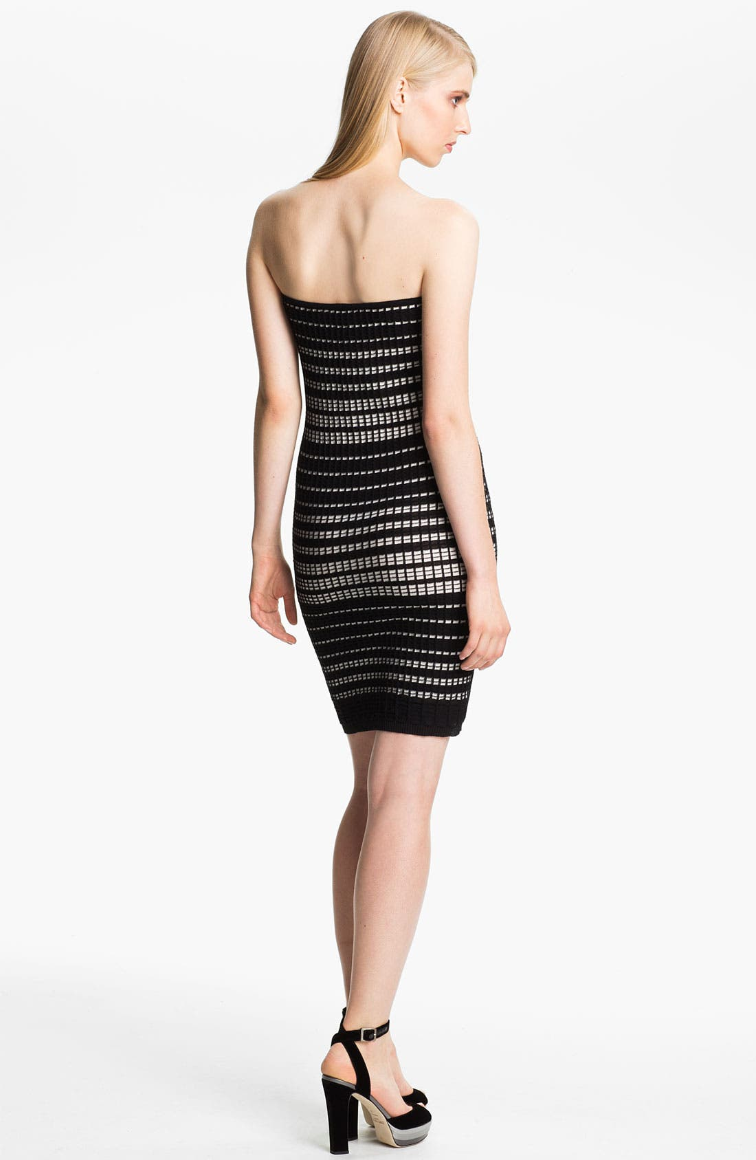 Alternate Image 2  - M Missoni Plaid Stitch Tube Dress