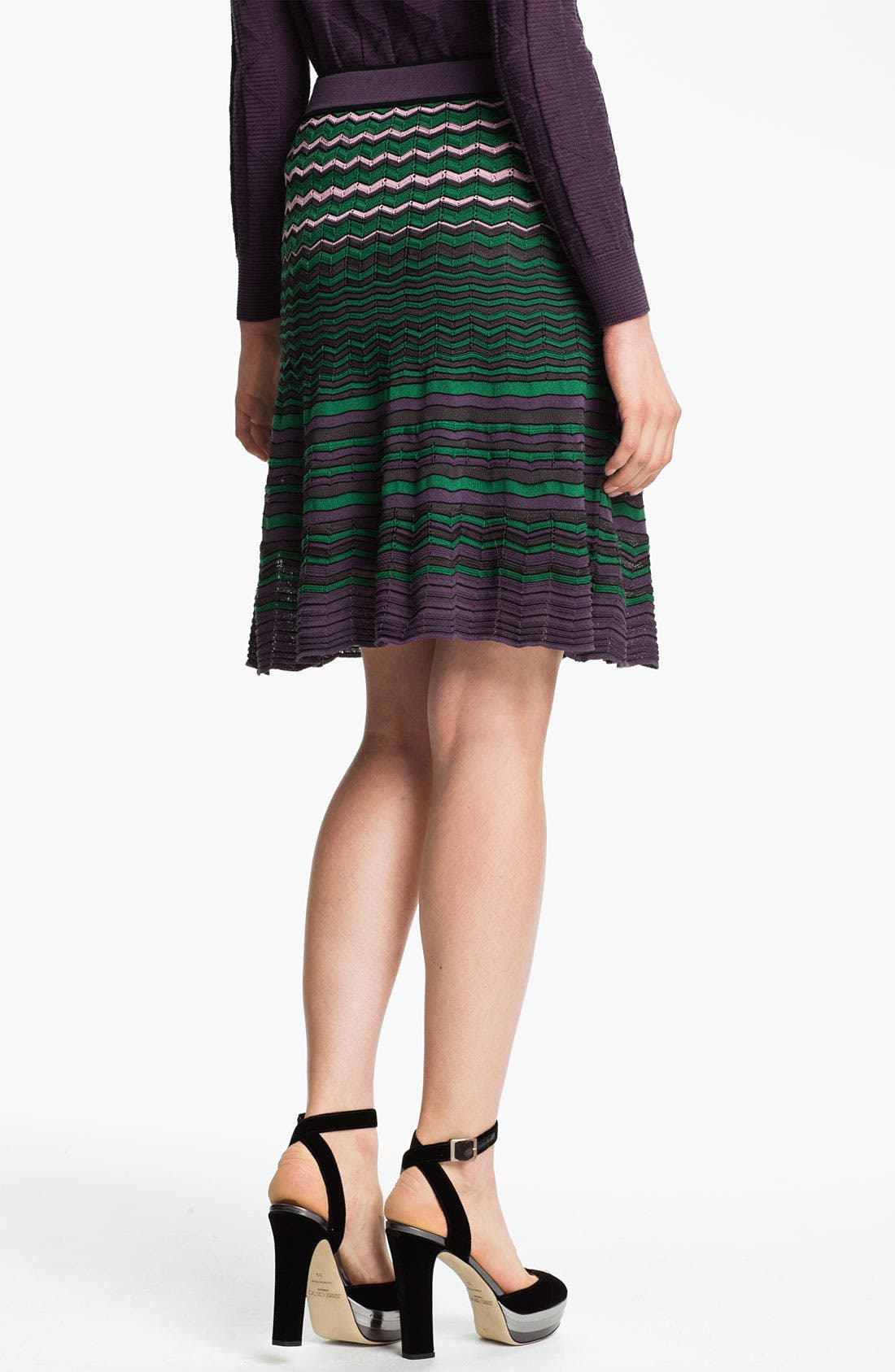 Alternate Image 2  - M Missoni Zigzag Stitch Skirt