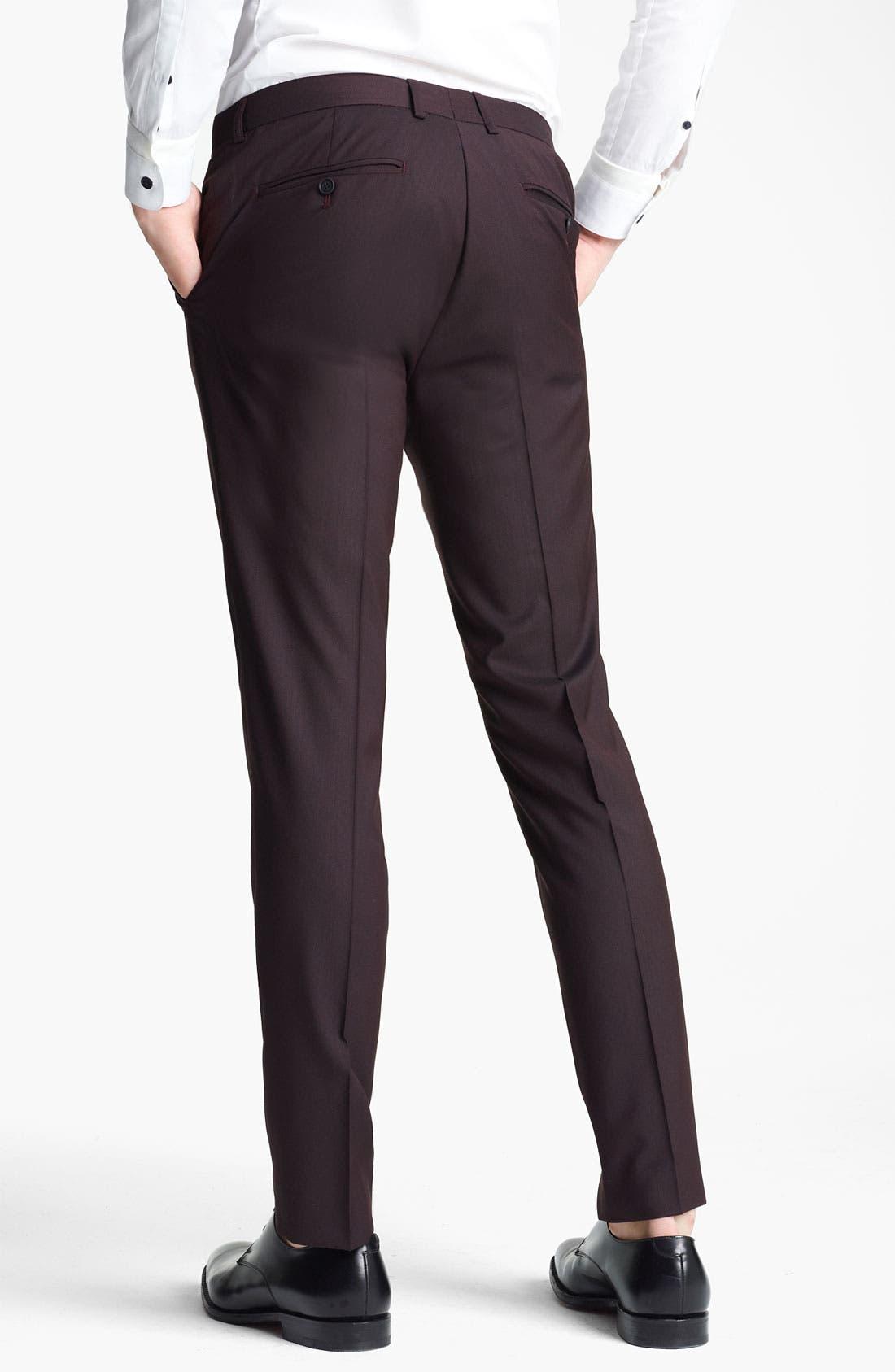 Alternate Image 2  - Topman Skinny Trousers