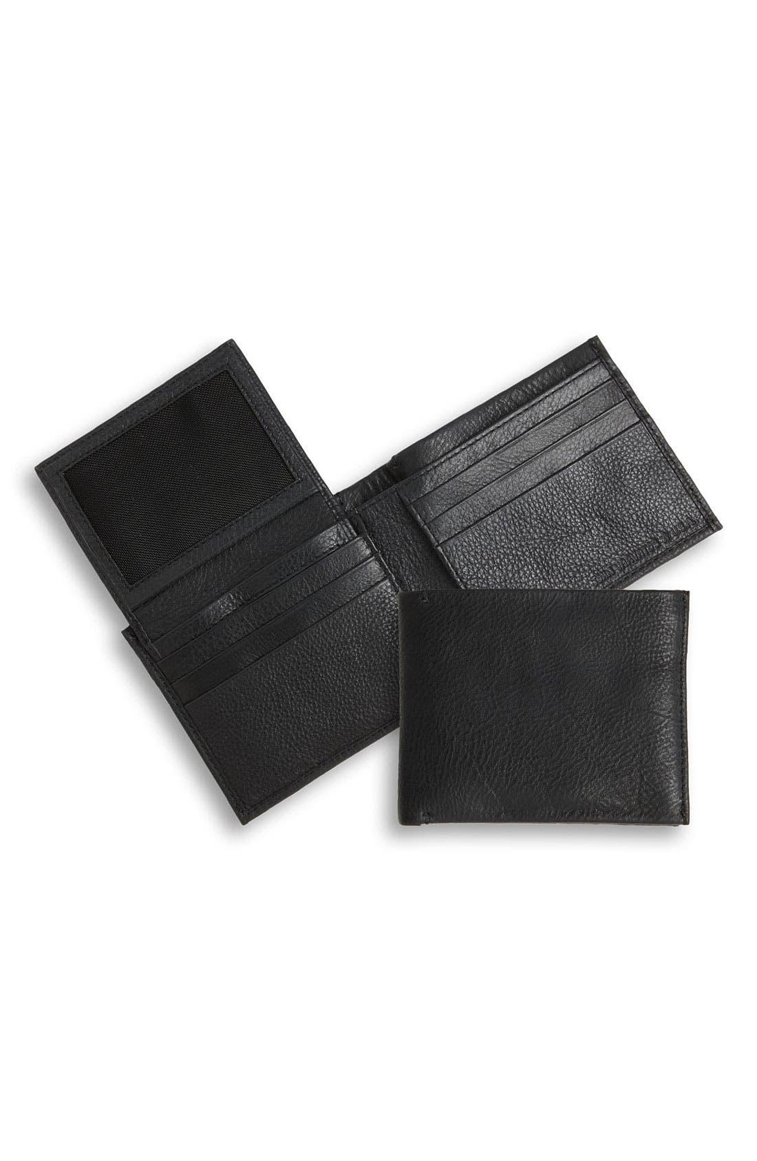 Alternate Image 1 Selected - John Varvatos Star USA ID Passcase Bifold Wallet