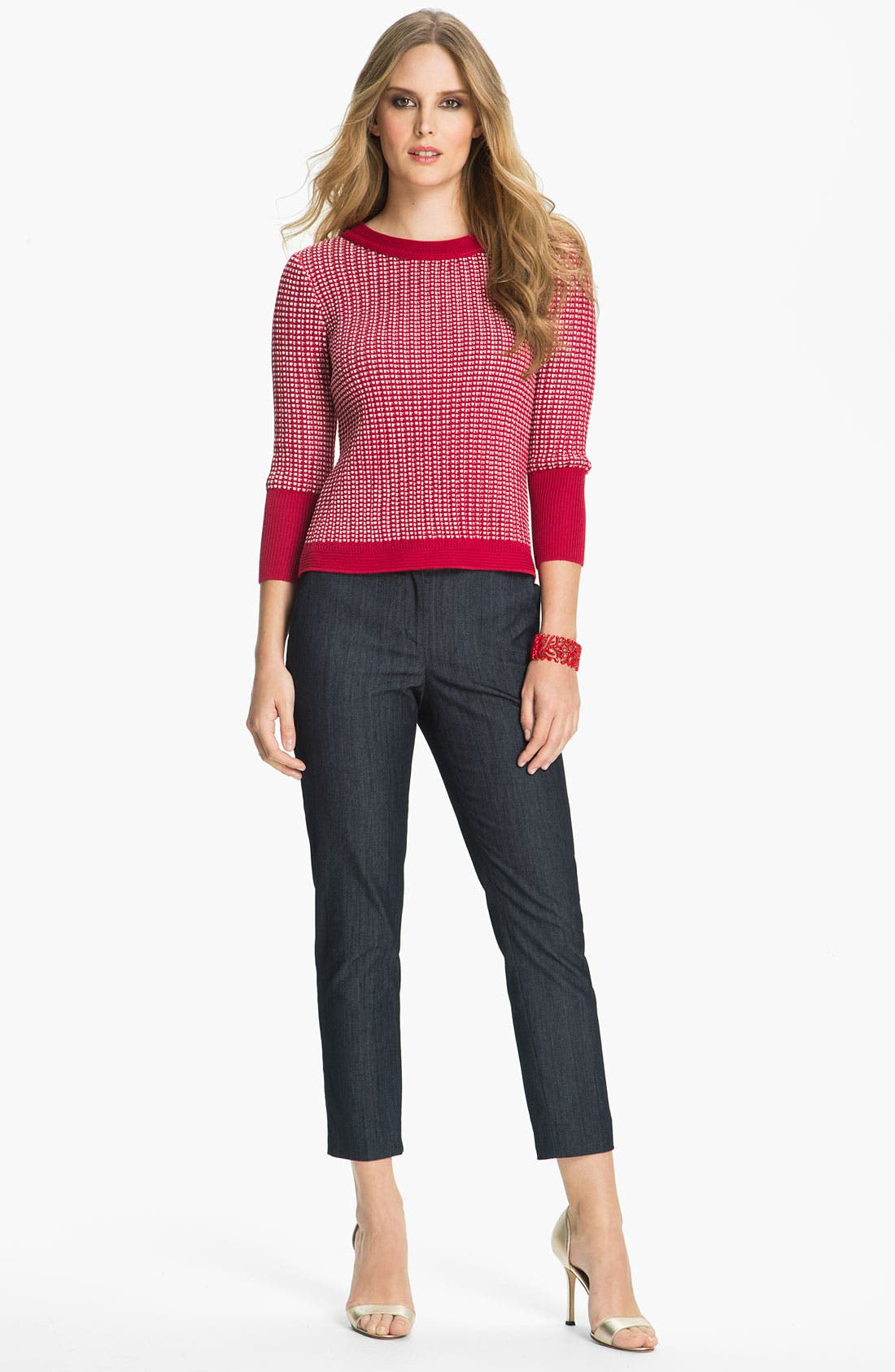 Alternate Image 2  - St. John Collection 'Tribeca' Knit Sweater