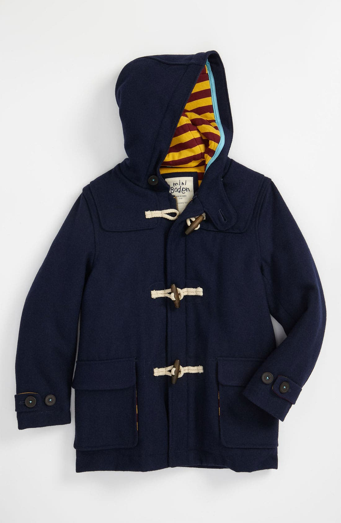 Mini Boden Duffle Coat (Toddler) | Nordstrom