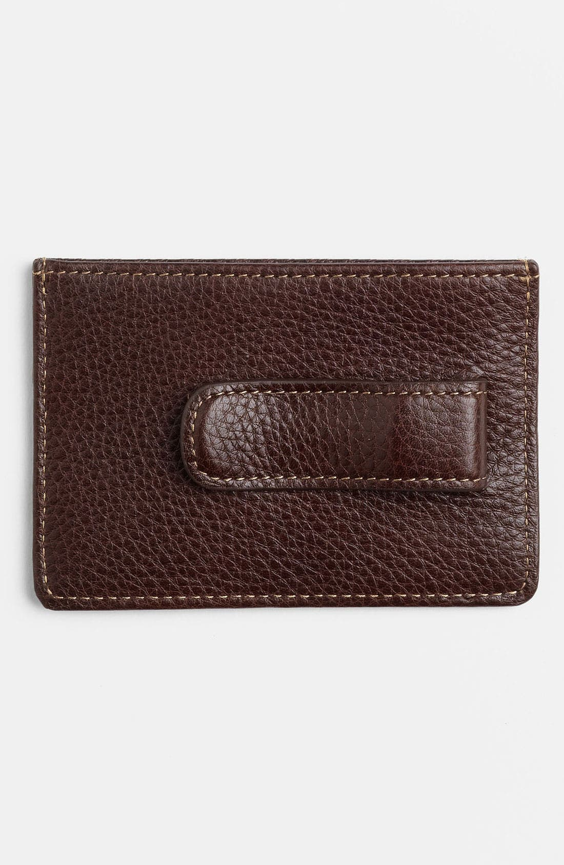 Alternate Image 2  - Boconi Money Clip Card Case