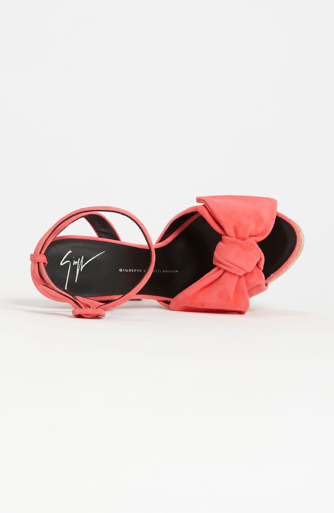 Alternate Image 3  - Giuseppe Zanotti Cork Sandal