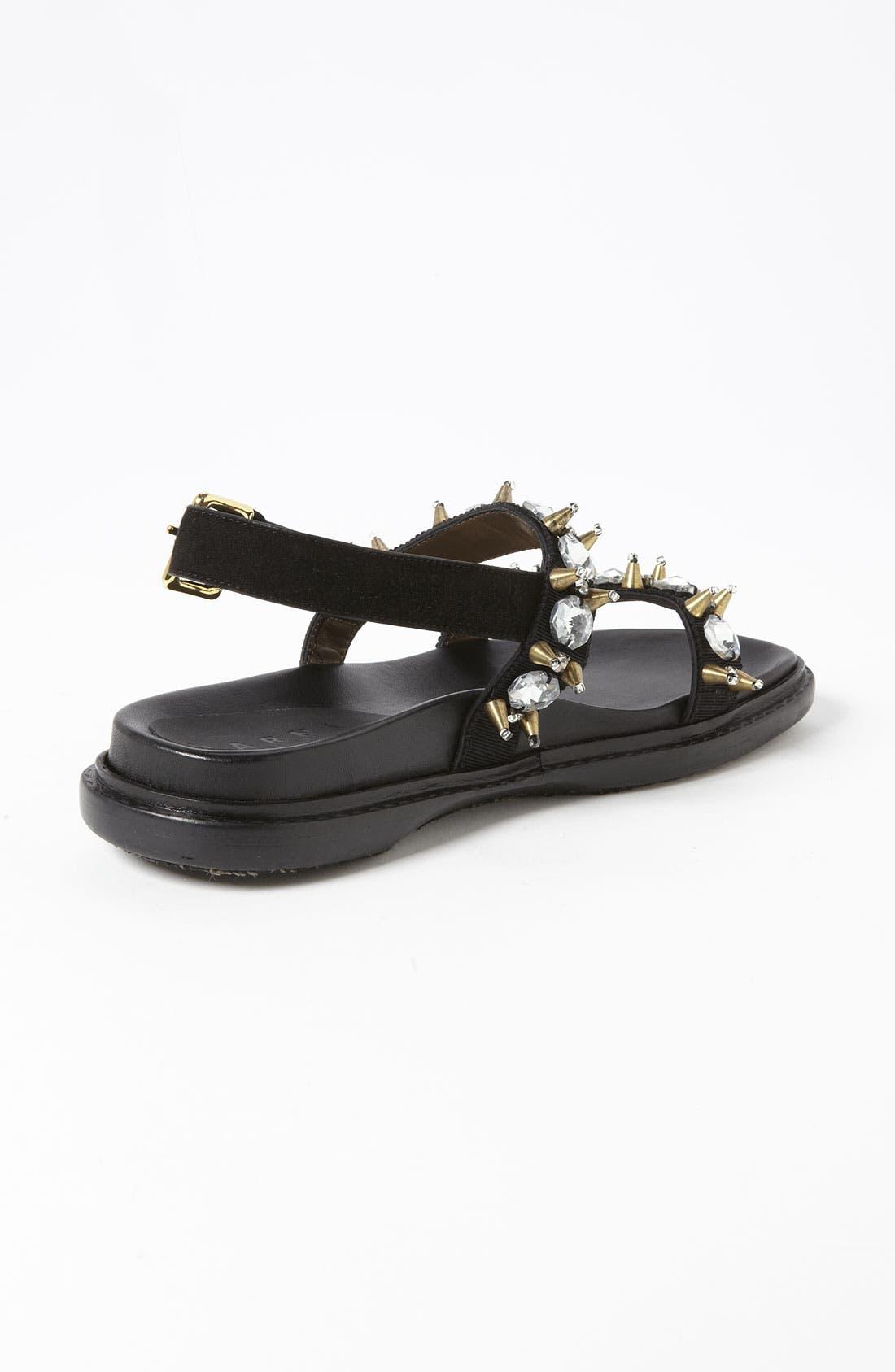 Alternate Image 2  - Marni Crystal Sandal