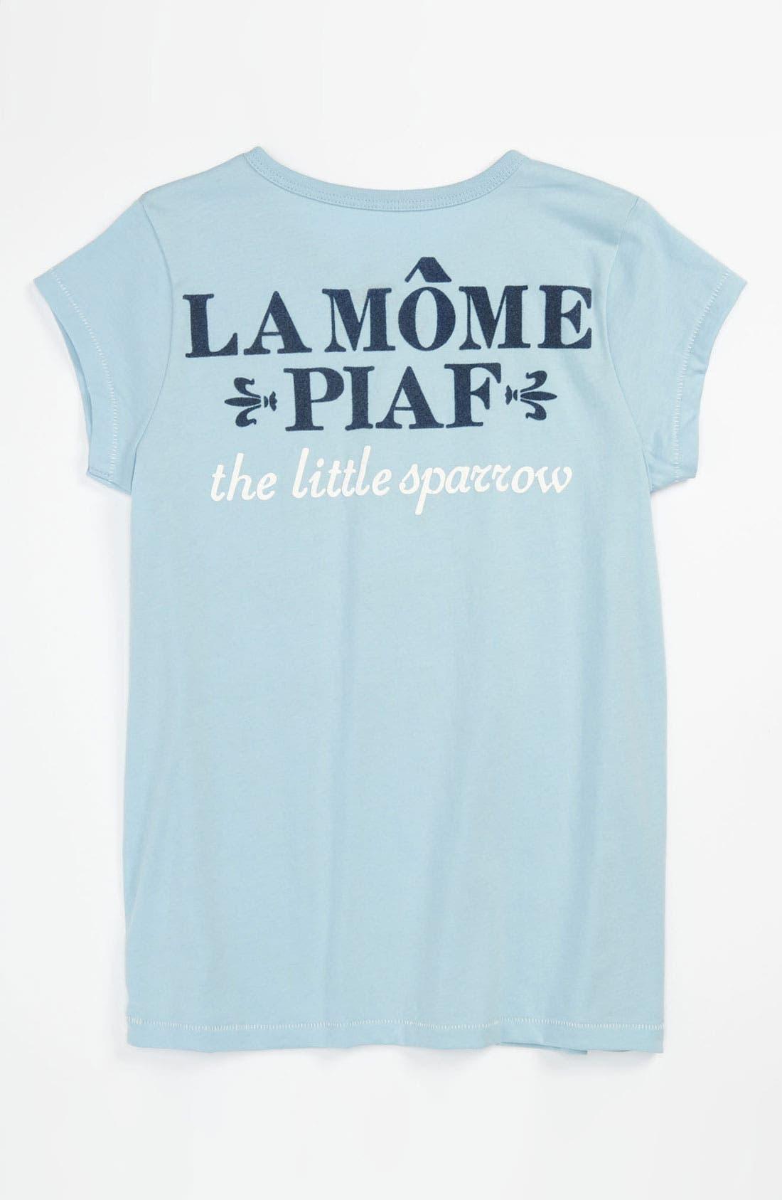 Alternate Image 2  - Peek 'Piaf' Tee (Toddler, Little Girls & Big Girls)