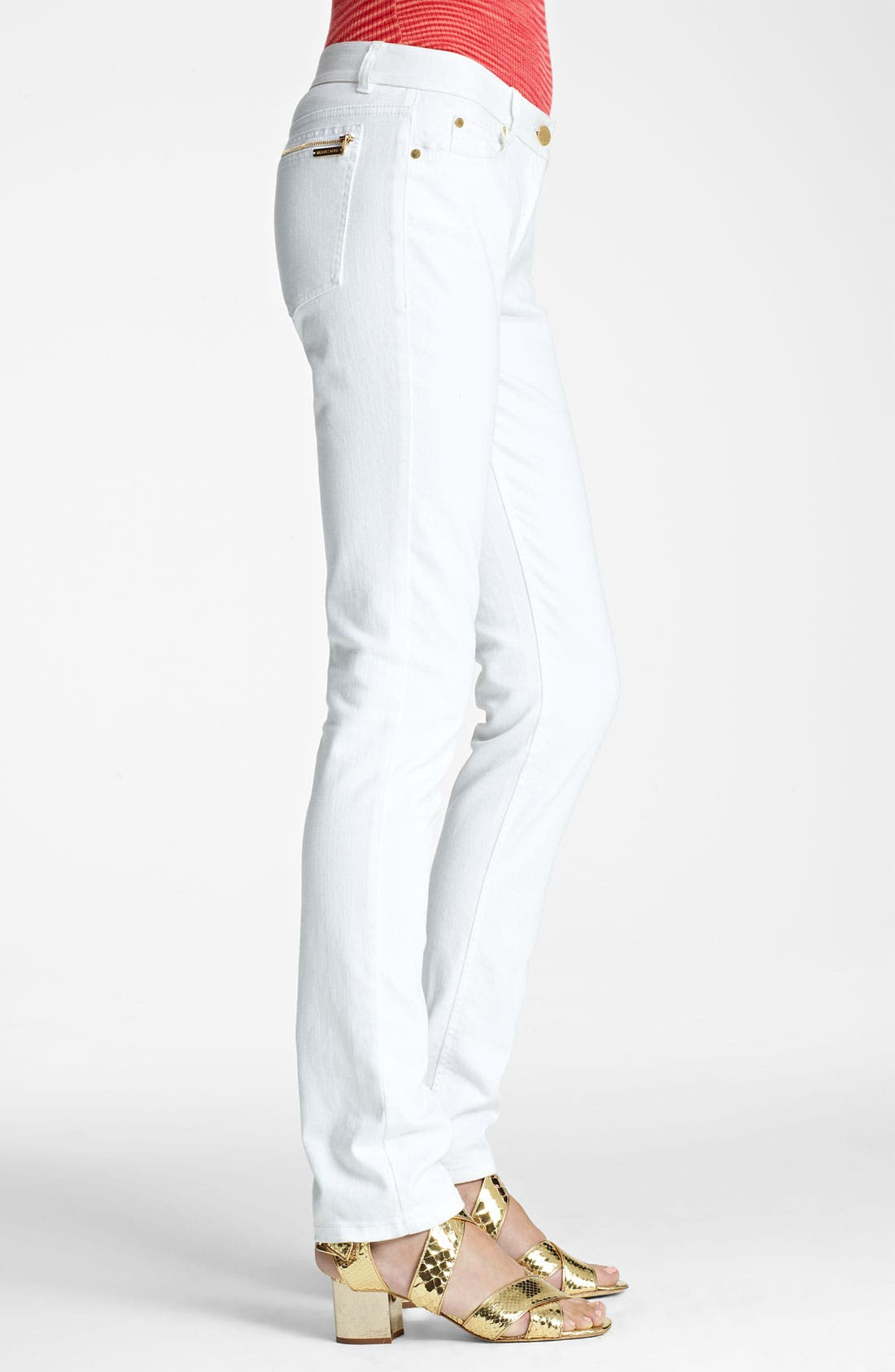 Alternate Image 3  - Michael Kors Stovepipe Stretch Jeans