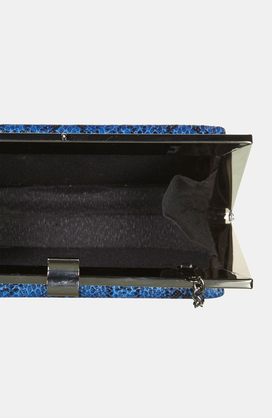 Alternate Image 3  - Topshop Snake Embossed Frame Shoulder Bag