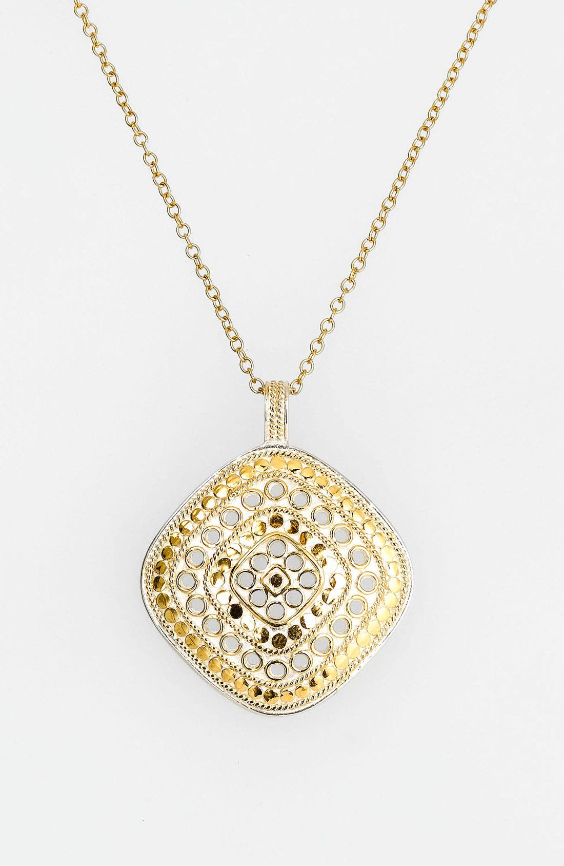 Alternate Image 2  - Anna Back 'Gili' Wire Rimmed Pendant Necklace (Nordstrom Exclusive)