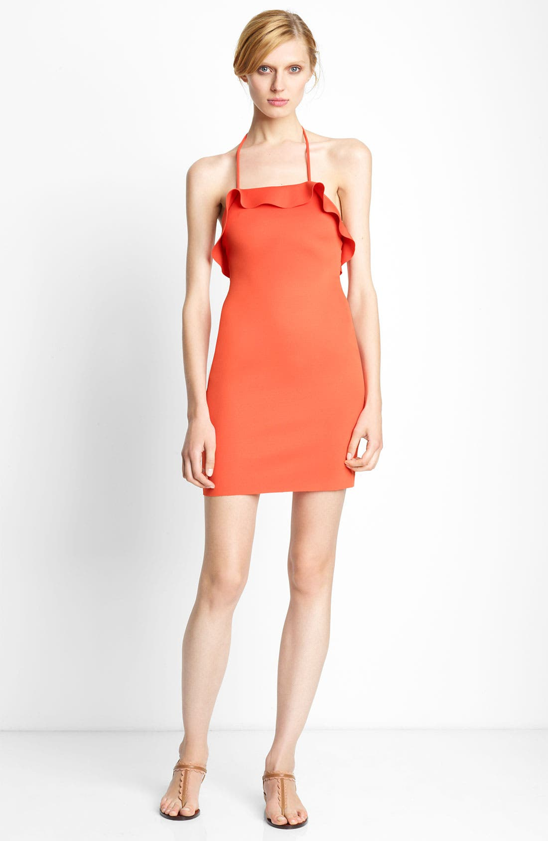 Alternate Image 1 Selected - Lanvin Ruffled Cover-Up