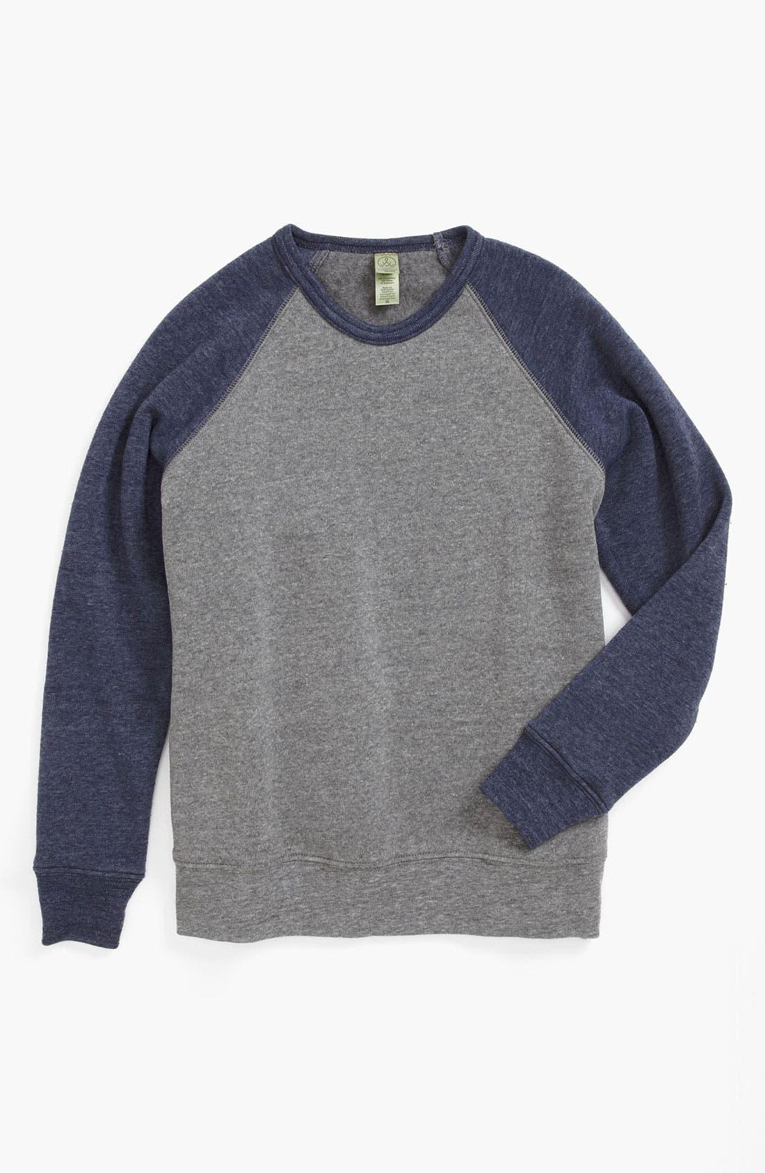 Main Image - Alternative Colorblock Sweatshirt (Big Boys)