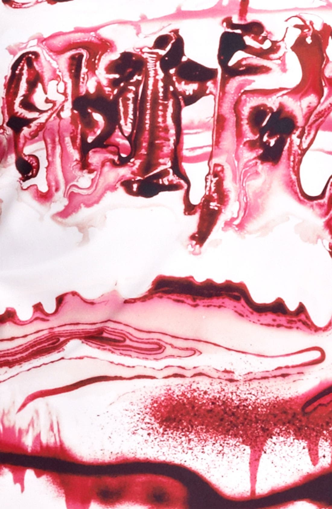 Alternate Image 3  - Jean Paul Gaultier Fuzzi Graffiti Print Dress