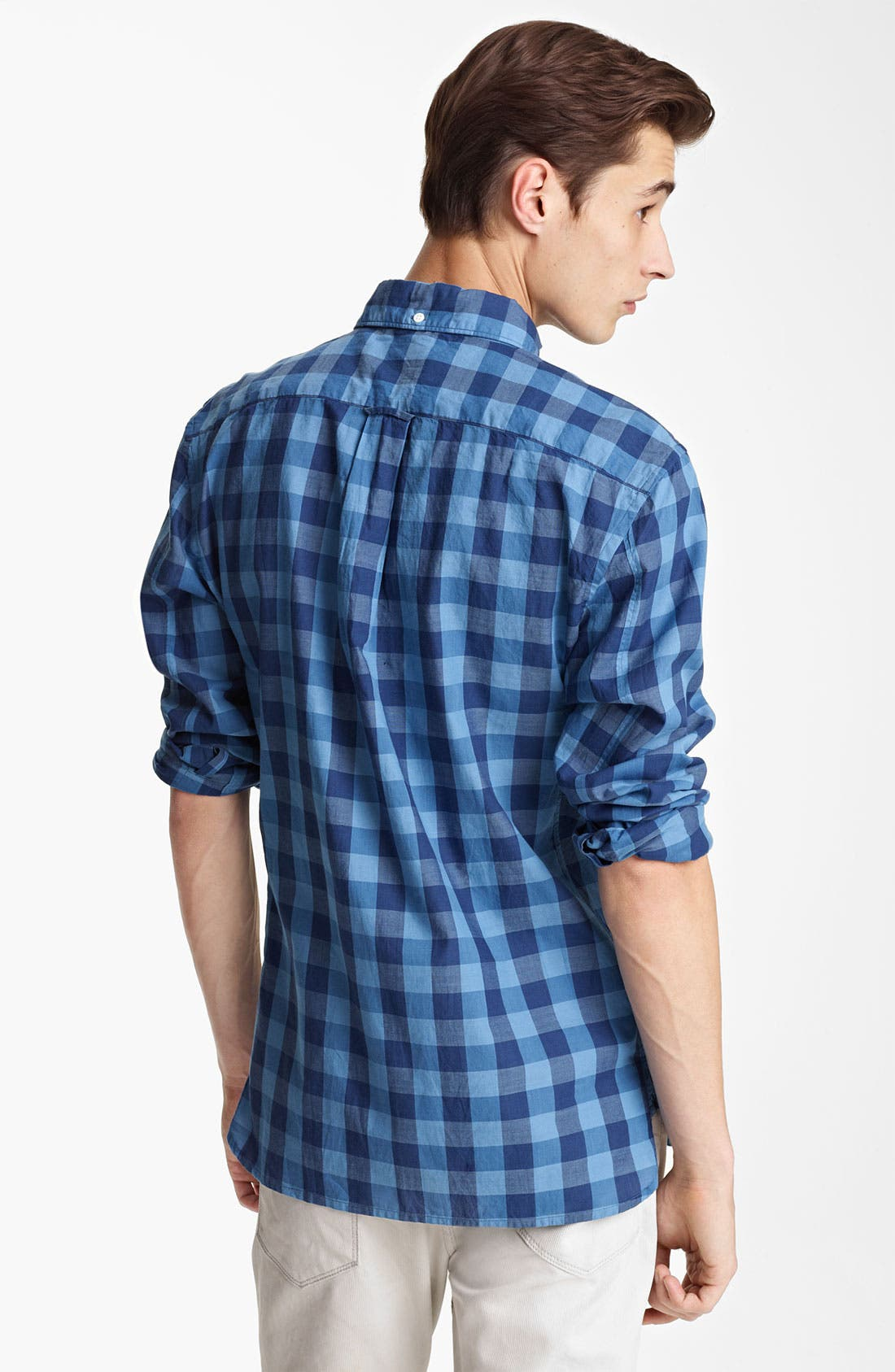 Alternate Image 2  - Todd Snyder Check Woven Shirt