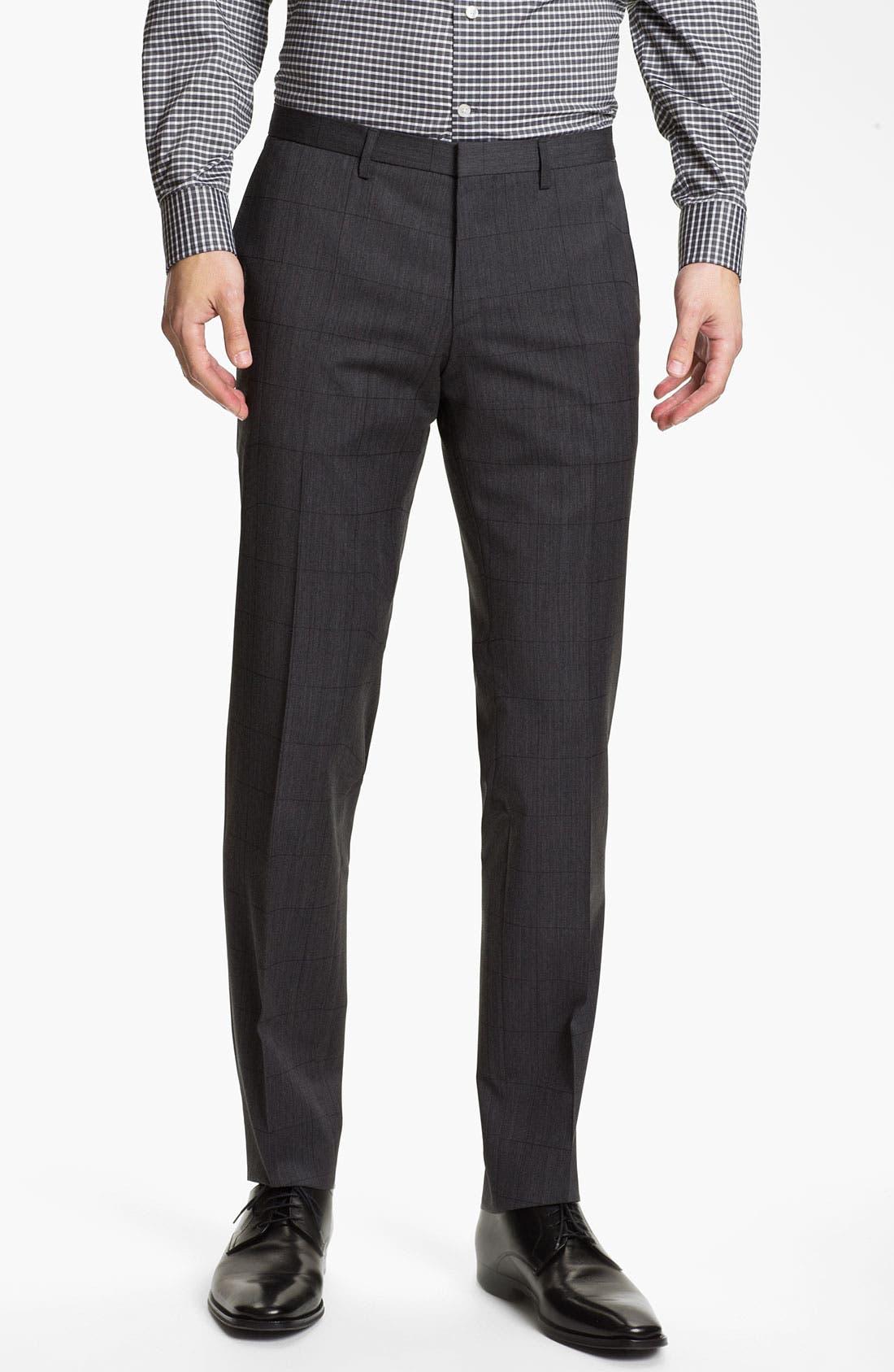 Alternate Image 4  - BOSS HUGO BOSS 'Ryan/Win' Extra Trim Fit Suit