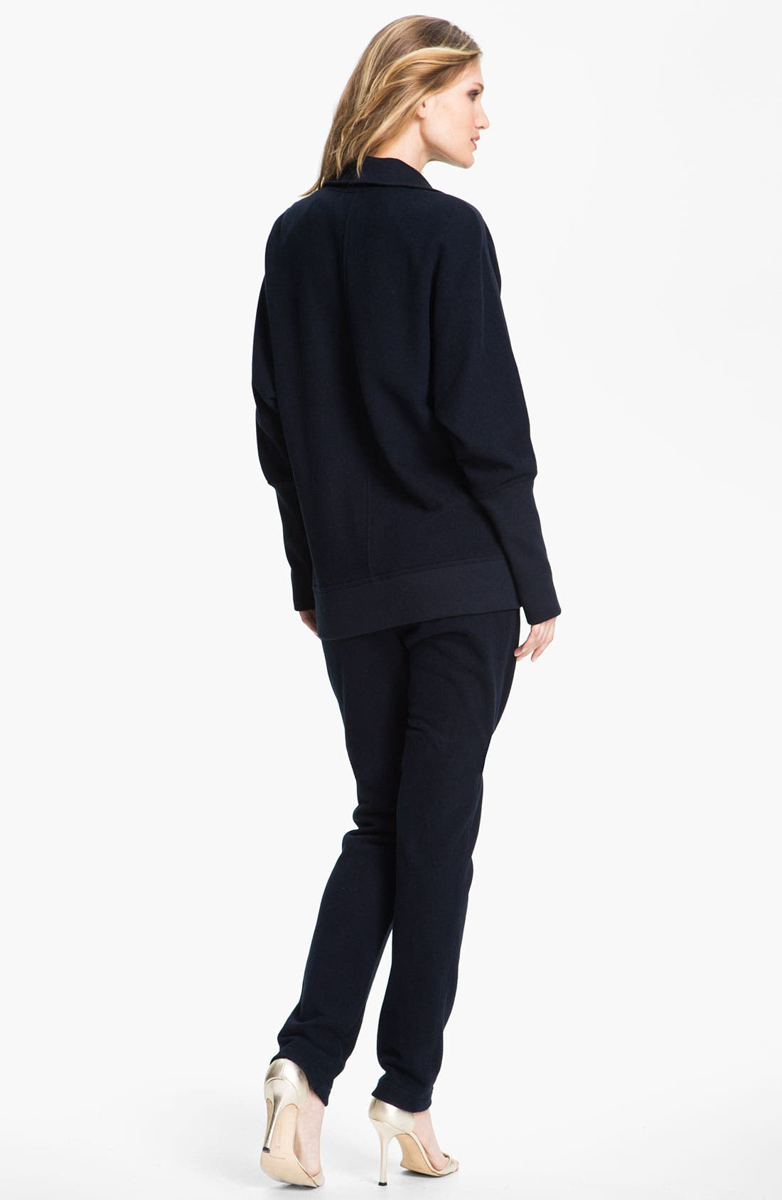 Alternate Image 4  - St. John Yellow Label French Terry Pull-On Pants