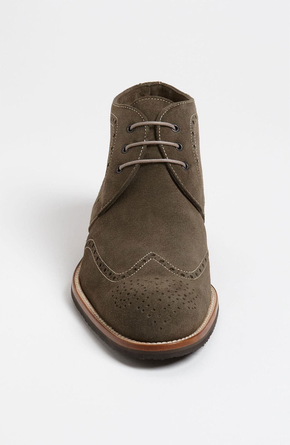 Alternate Image 3  - Thomas Dean Suede Wingtip Chukka Boot (Online Only)