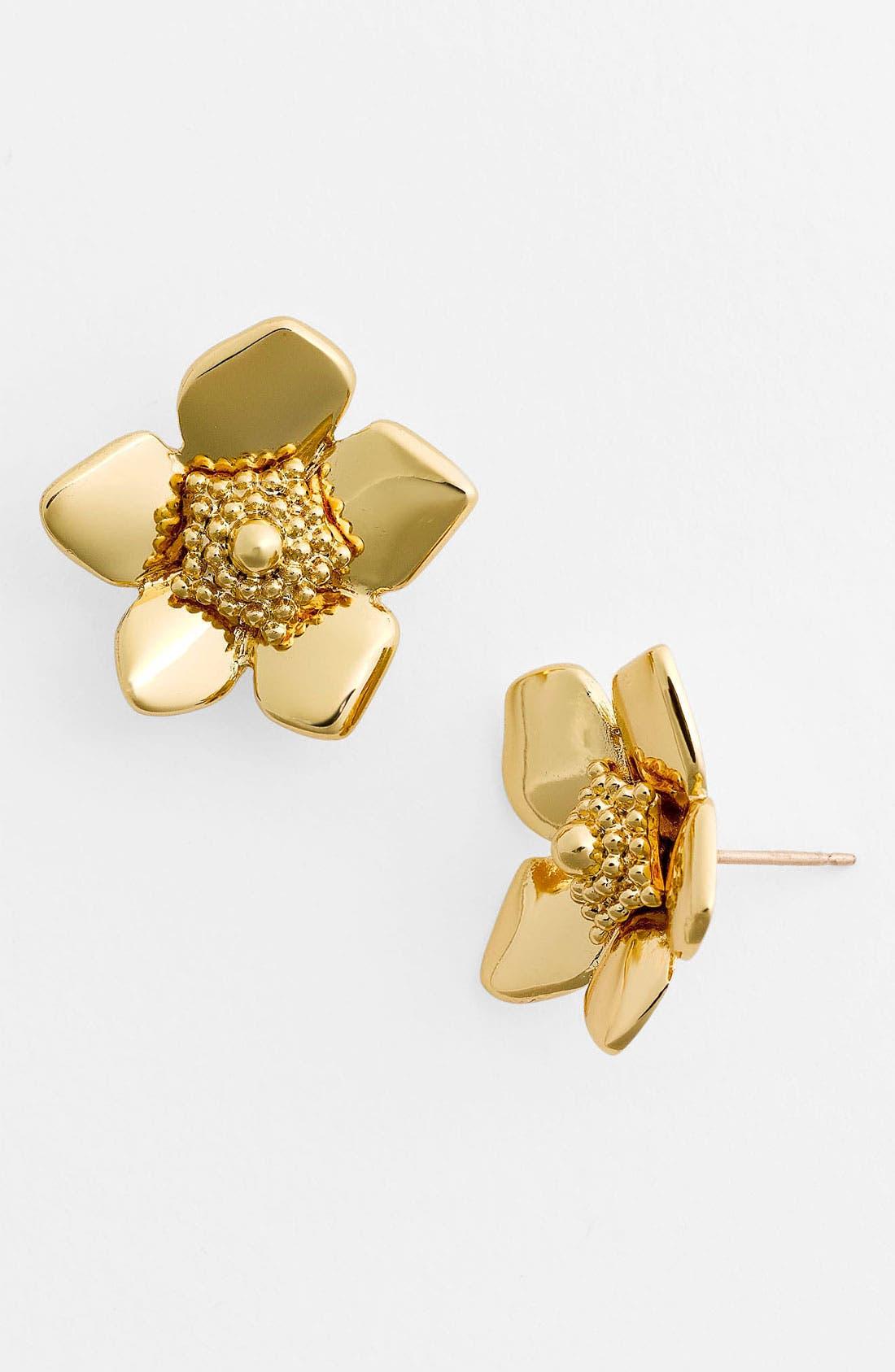 Main Image - kate spade new york 'bloomspot' stud earrings