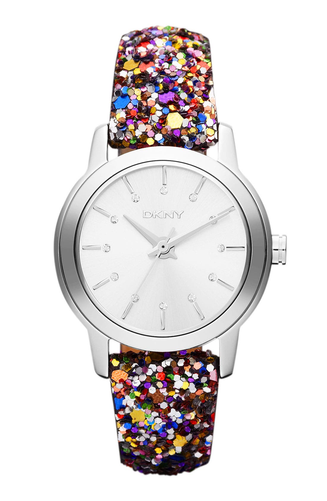 Main Image - DKNY Sparkle Strap Watch