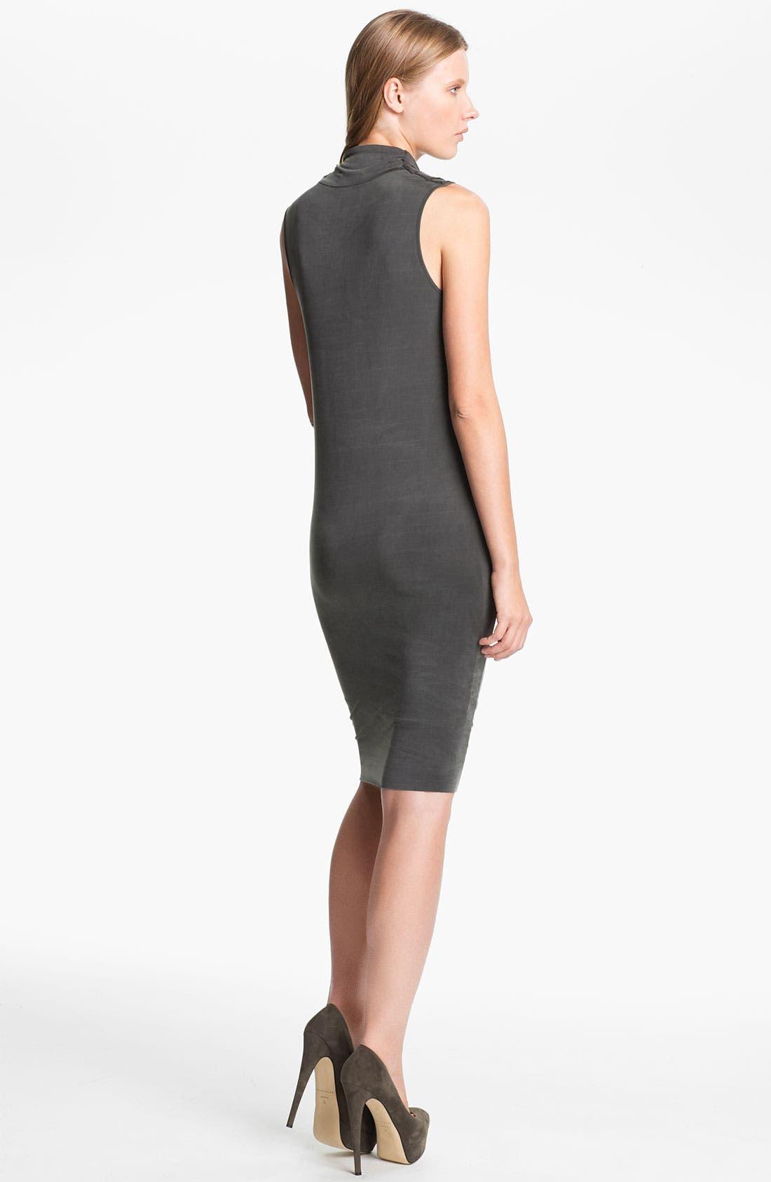 Alternate Image 2  - Helmut Lang 'Shade' Sleeveless Draped Dress