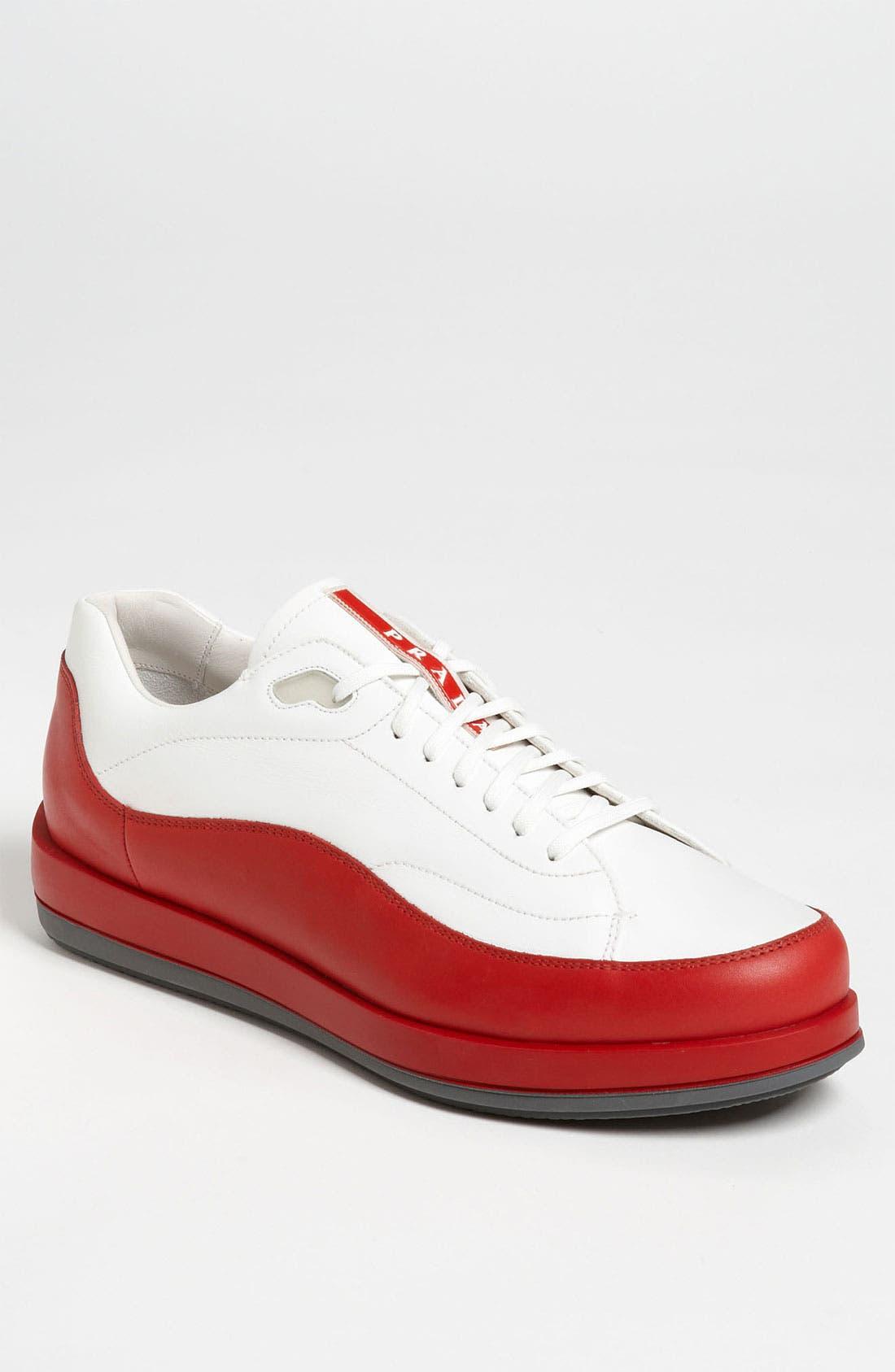Alternate Image 1 Selected - Prada Dipped Sneaker
