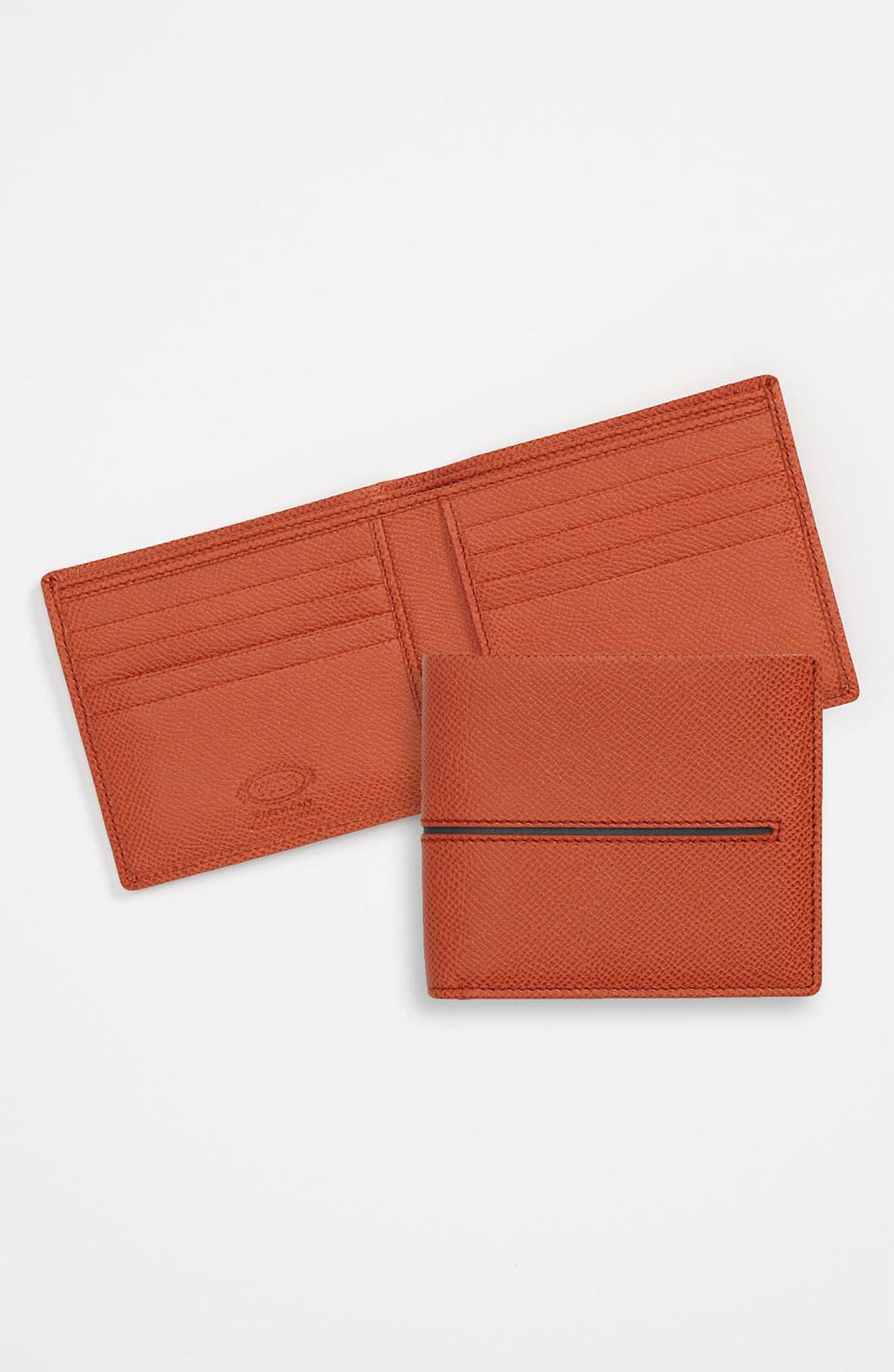 Alternate Image 1 Selected - Tod's Central Stitch Wallet