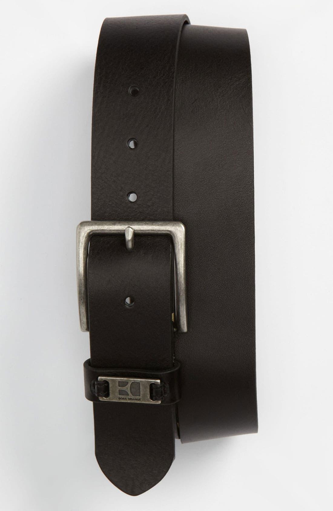Alternate Image 1 Selected - BOSS Orange 'Jackson' Belt