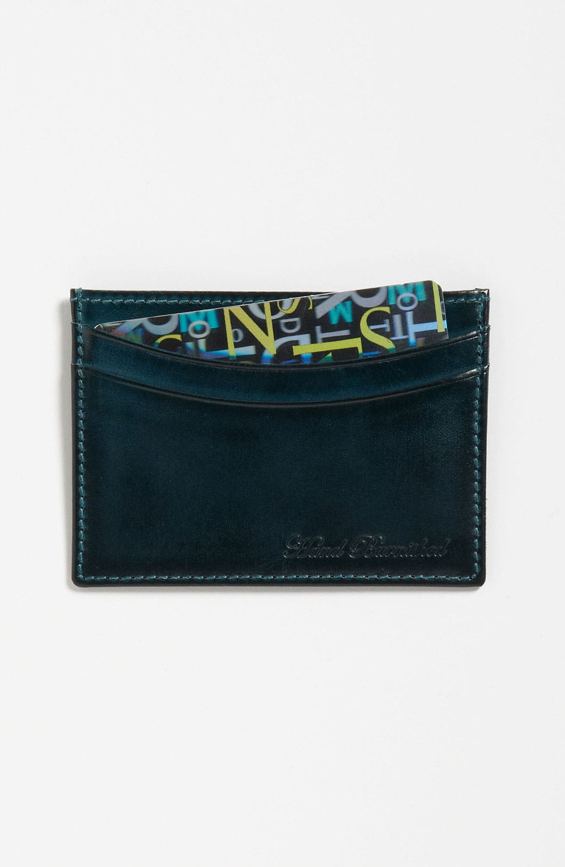 Alternate Image 1 Selected - Paul Smith Accessories Calfskin Leather Credit Card Case