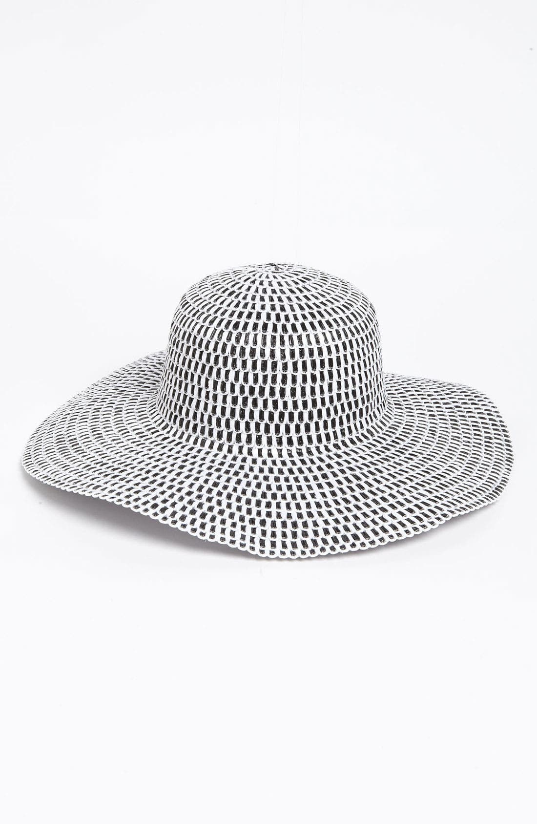 Alternate Image 1 Selected - Nordstrom 'Gingham' Sun Hat