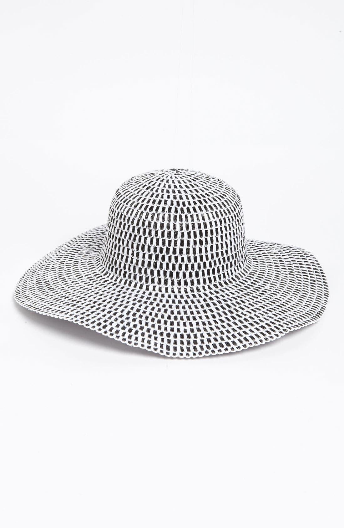 Main Image - Nordstrom 'Gingham' Sun Hat