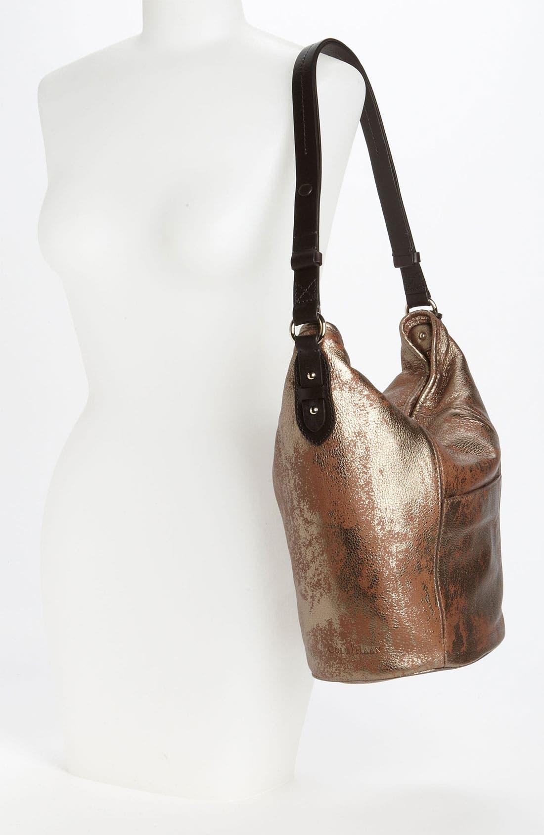Alternate Image 2  - Cole Haan 'Crosby - Medallion Metallic' Bucket Bag