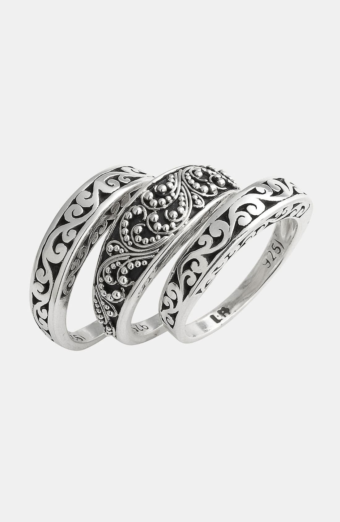 Main Image - Lois Hill 'Classics' Stackable Rings (Set of 3)