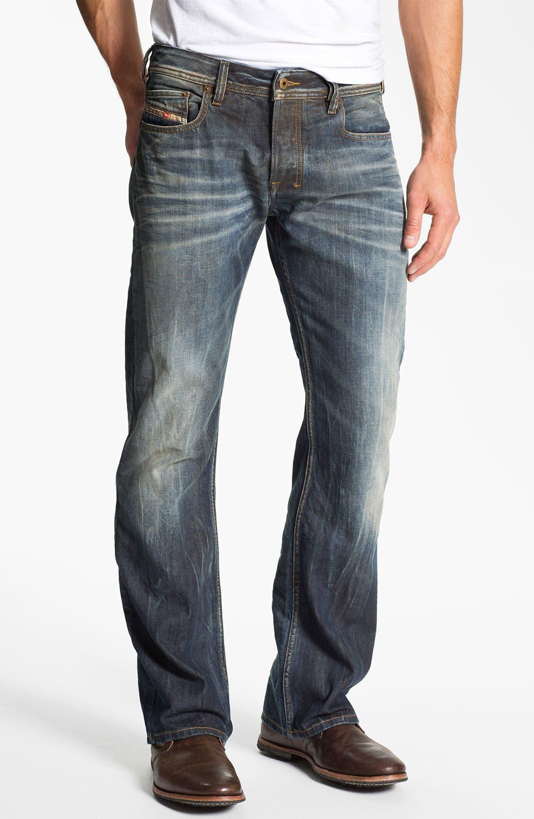 Alternate Image 2  - DIESEL® 'Zatiny' Bootcut Jeans (803M)