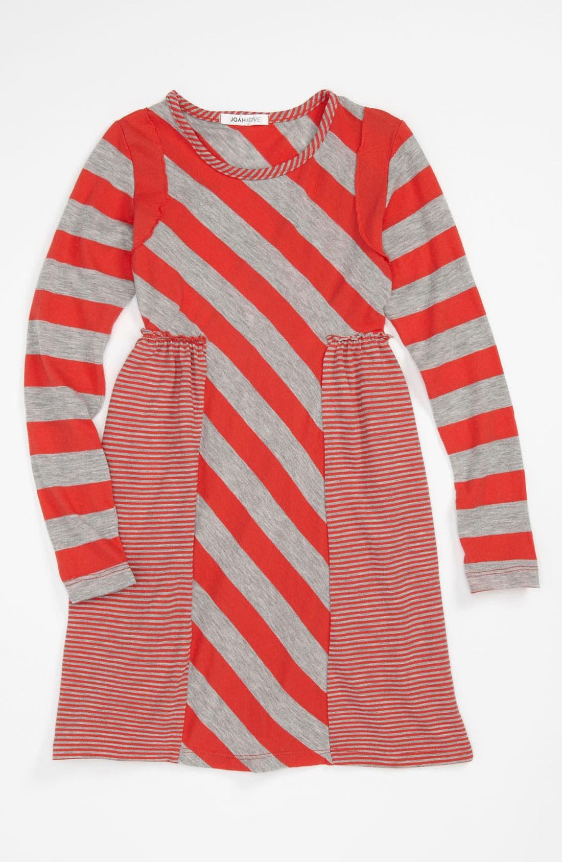 Main Image - Joah Love Long Sleeve Dress (Little Girls & Big Girls)