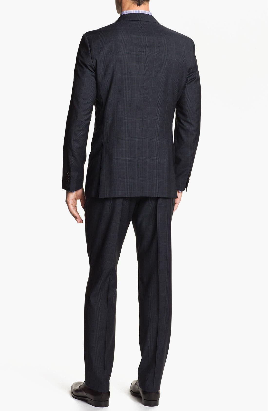 Alternate Image 3  - BOSS Black 'Jam/Sharp' Trim Fit Plaid Suit