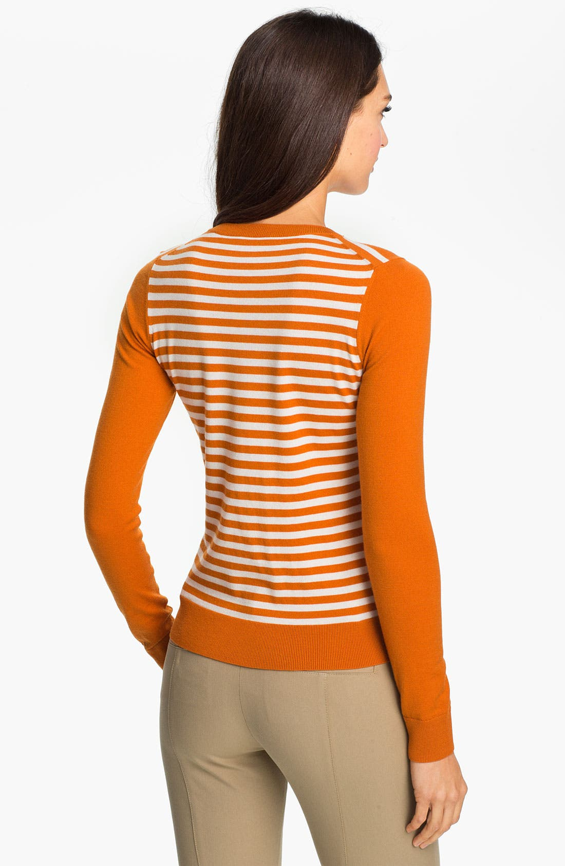 Alternate Image 2  - Theory 'Tommie' Stripe Sweater