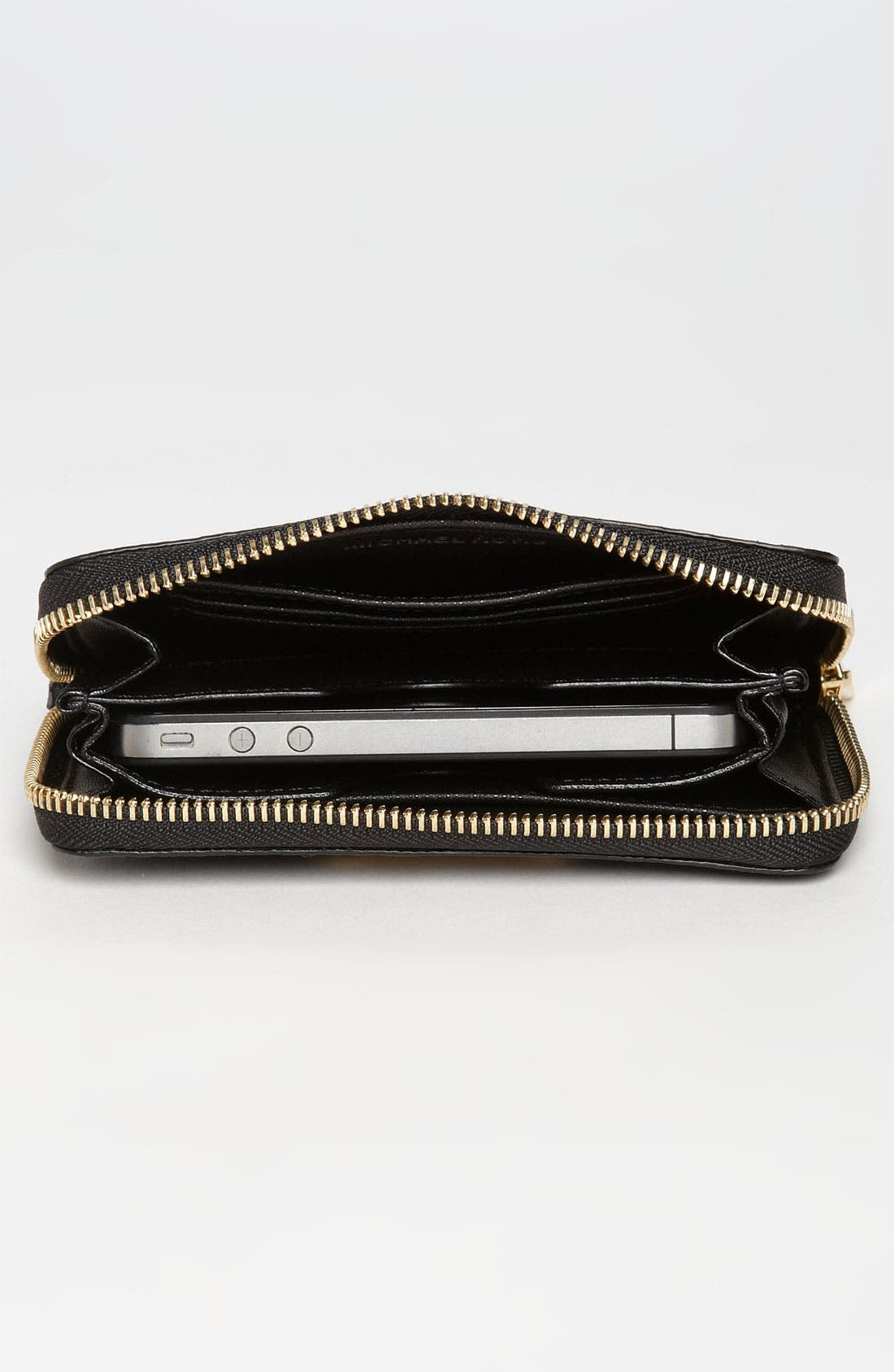 Alternate Image 3  - MICHAEL Michael Kors Python Embossed iPhone Wristlet