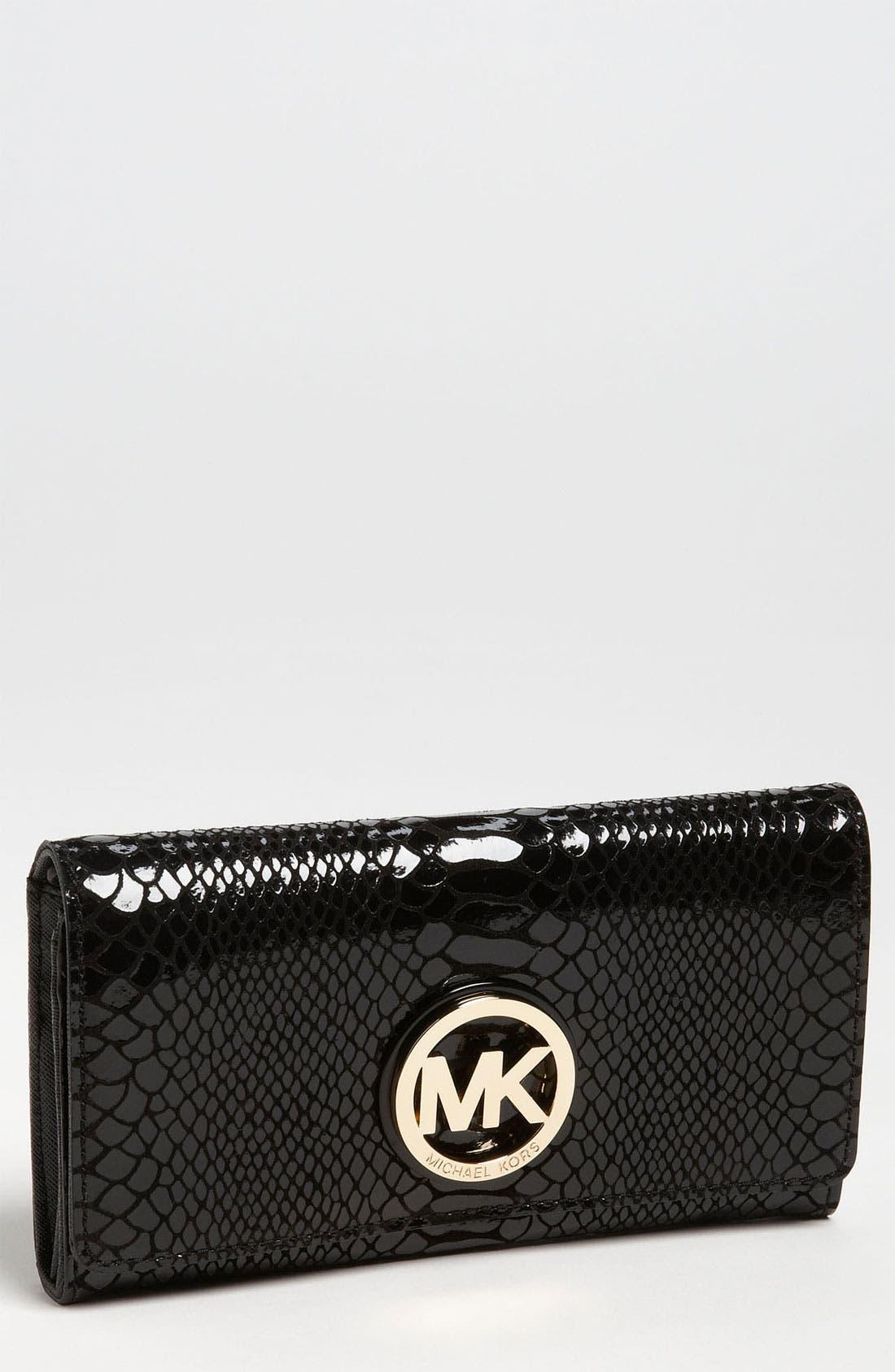 Main Image - MICHAEL Michael Kors 'Fulton - Medium' Carryall Wallet