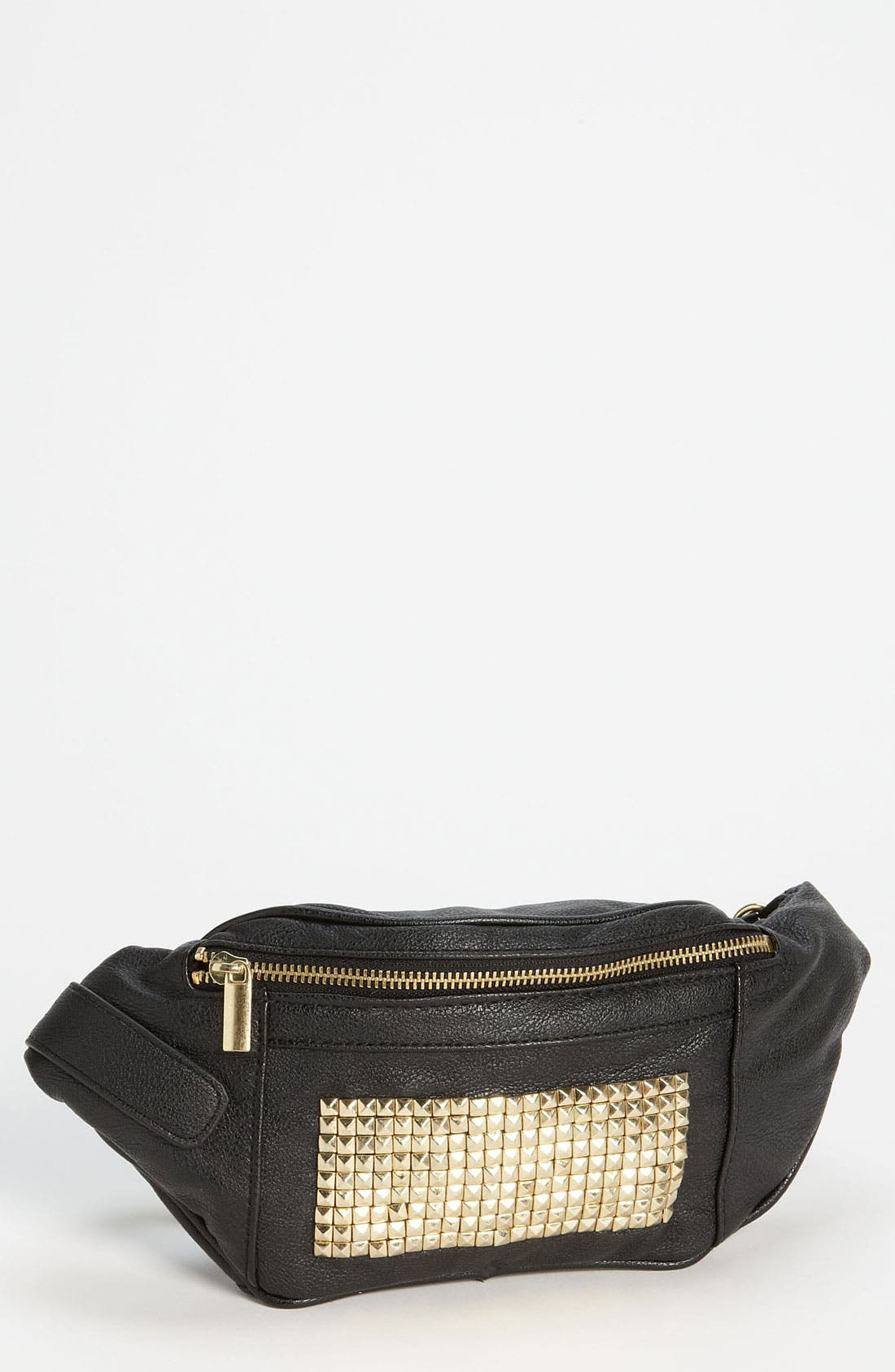 Alternate Image 1 Selected - Topshop Studded Belt Pouch