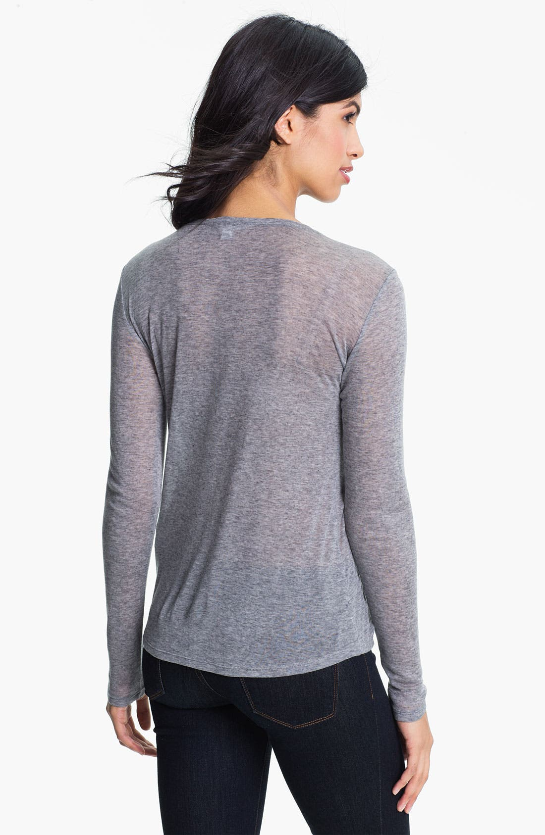 Alternate Image 2  - Eileen Fisher Scoop Neck Tee (Online Exclusive)