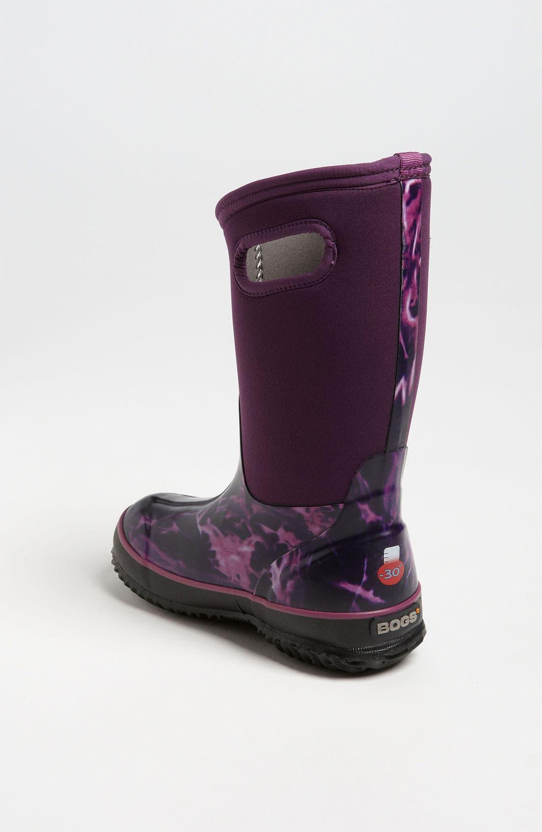 Alternate Image 2  - Bogs 'Classic High - Batik' Waterproof Boot (Toddler, Little Kid & Big Kid)
