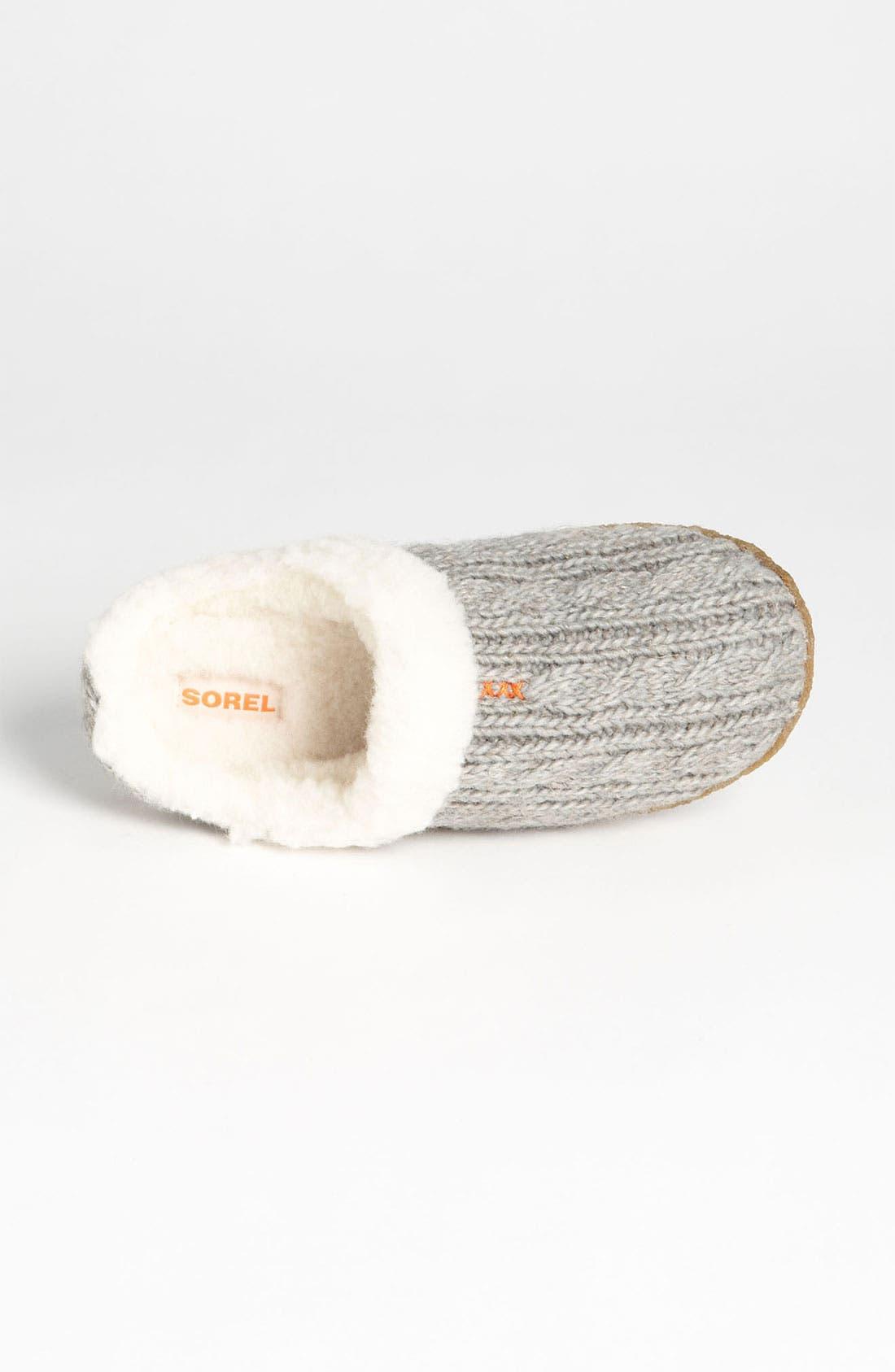 Alternate Image 3  - SOREL 'Nakiska' Knit Slipper (Women)