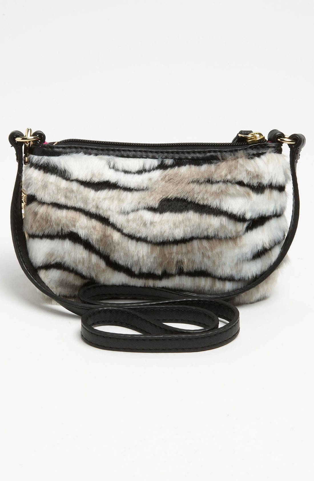 Alternate Image 4  - Juicy Couture 'Louisa' Faux Fur Crossbody Bag (Girls)