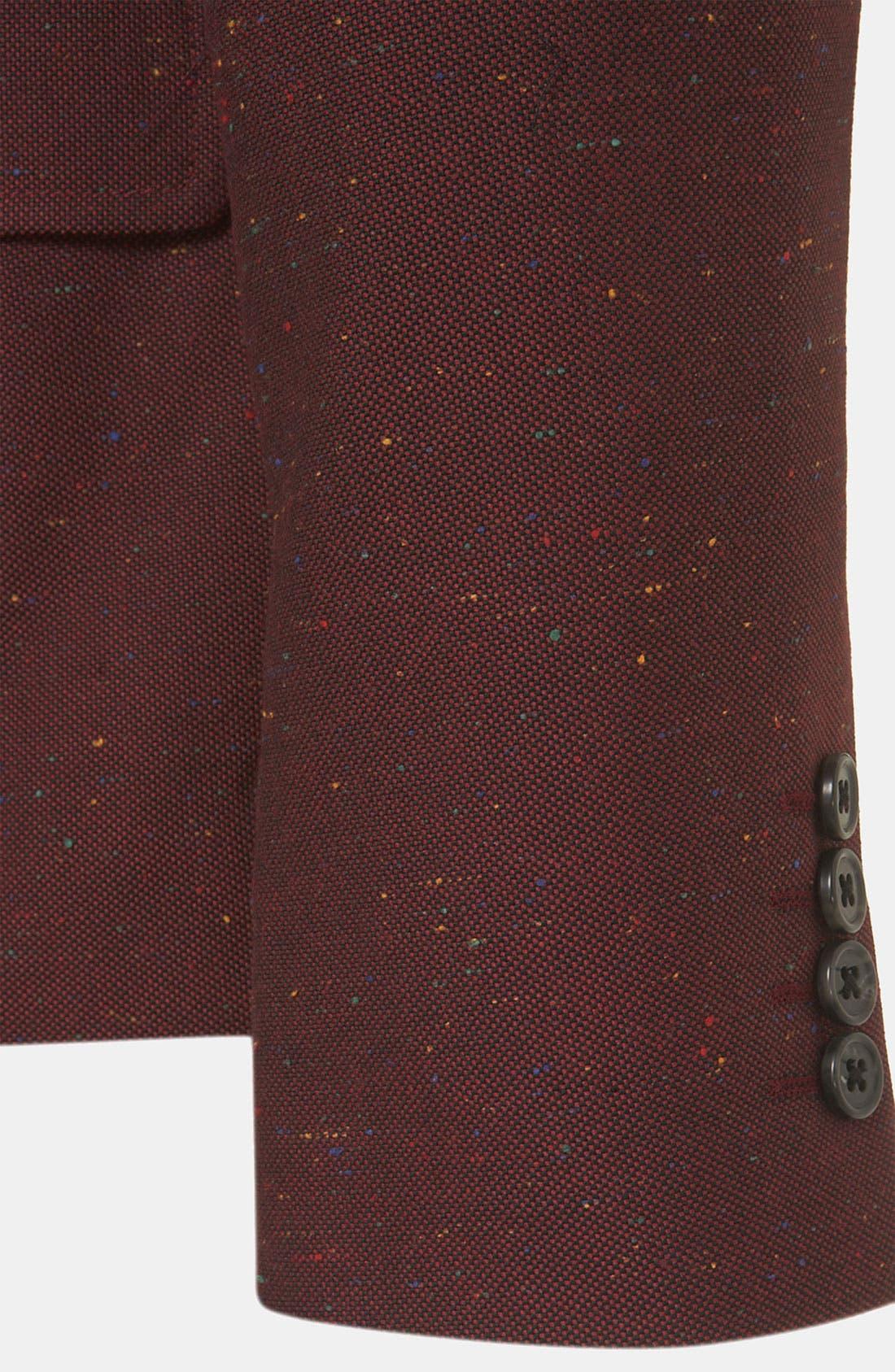 Alternate Image 3  - Topman 'Oxford' Skinny Fit Blazer